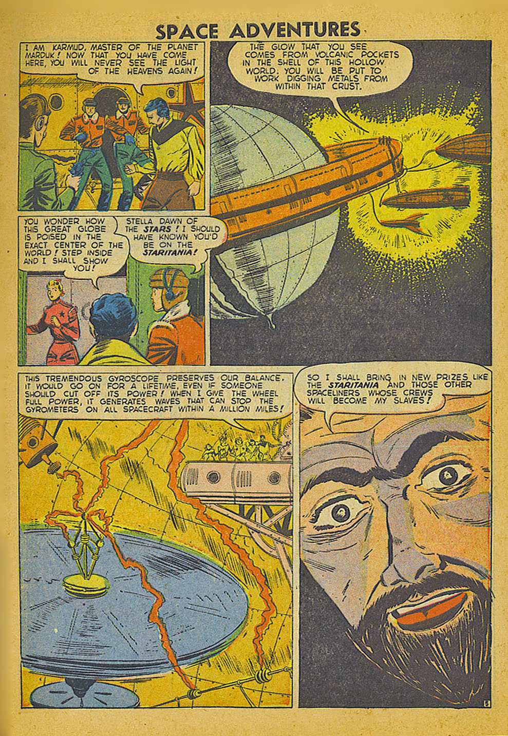 Space Adventures (1952) issue 3 - Page 6