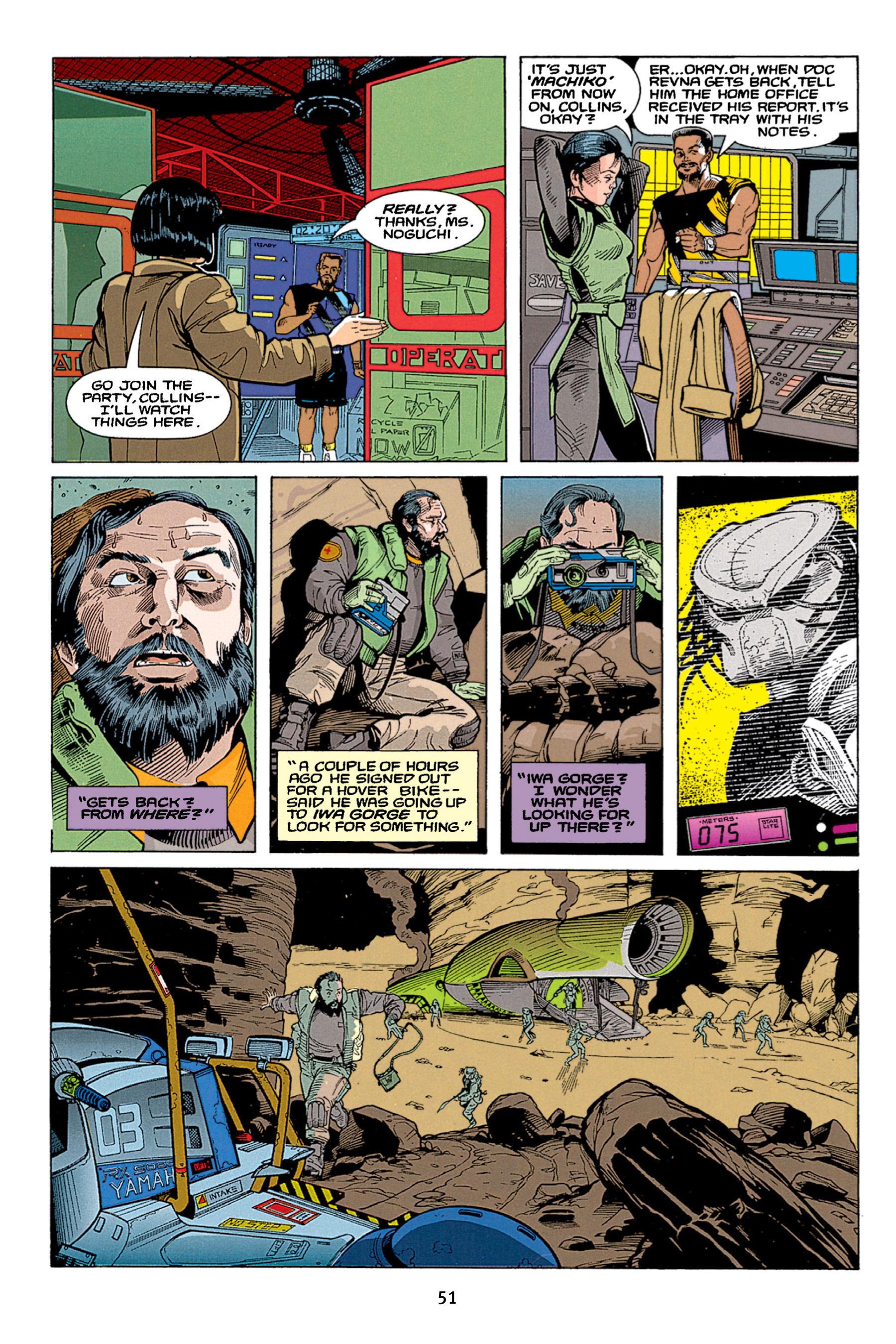 Read online Aliens vs. Predator Omnibus comic -  Issue # _TPB 1 Part 1 - 51