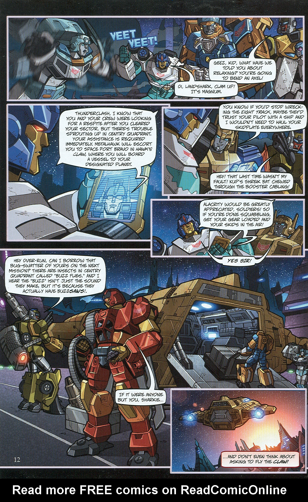 Read online Transformers: Collectors' Club comic -  Issue #32 - 12