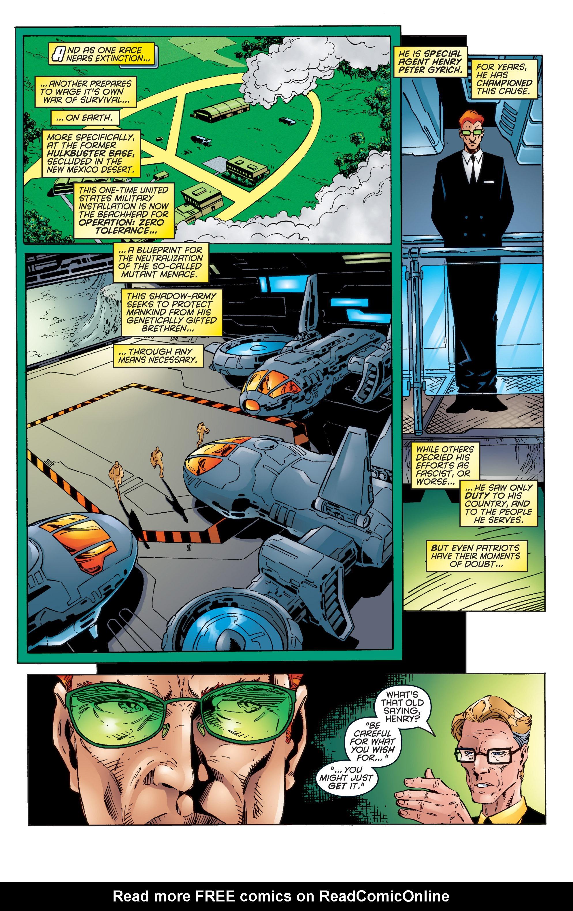 Read online Uncanny X-Men (1963) comic -  Issue #344 - 7