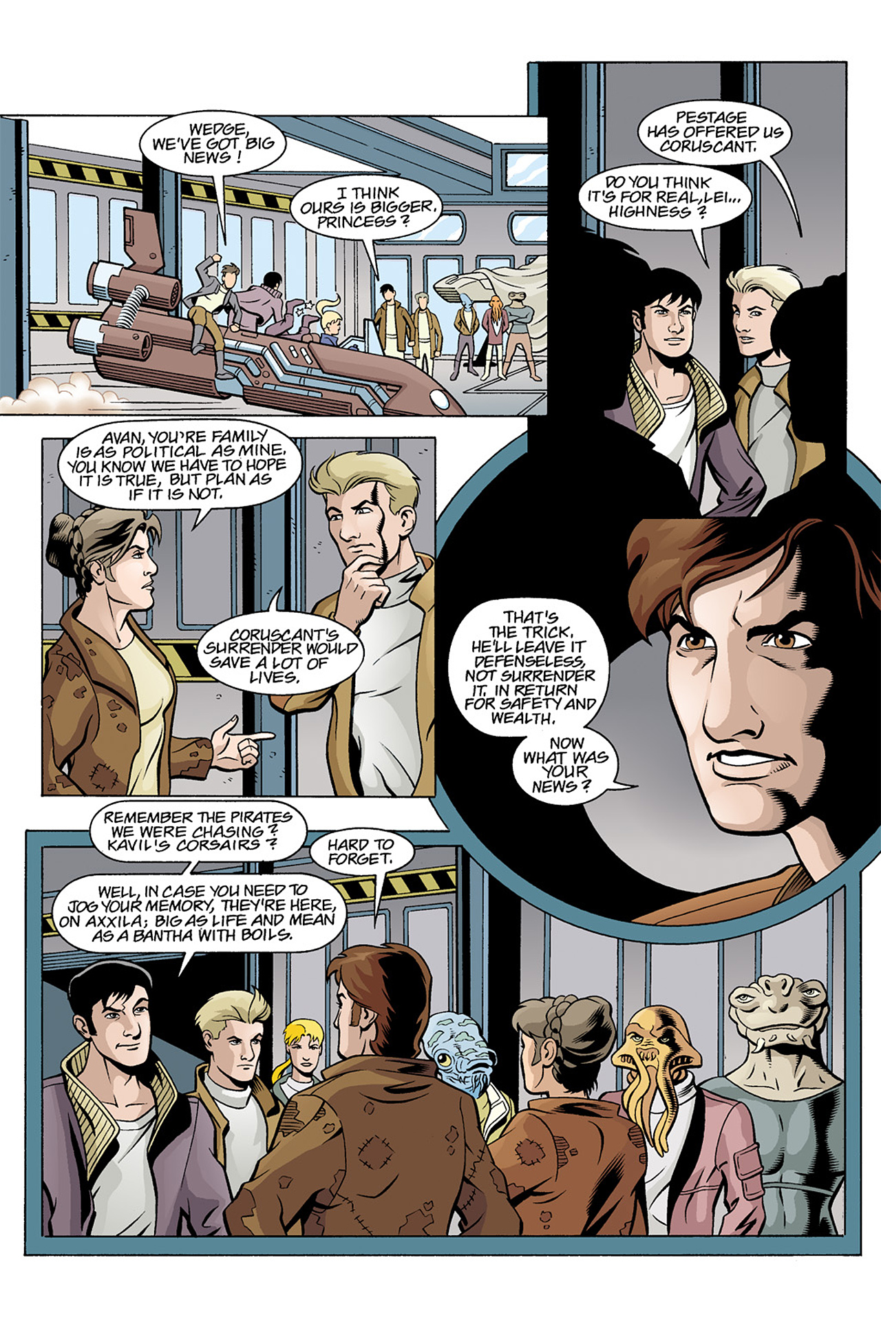 Read online Star Wars Omnibus comic -  Issue # Vol. 3 - 220