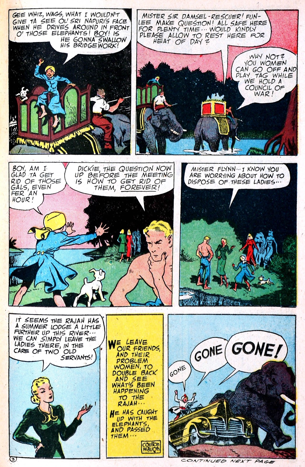 Read online Famous Funnies comic -  Issue #139 - 30