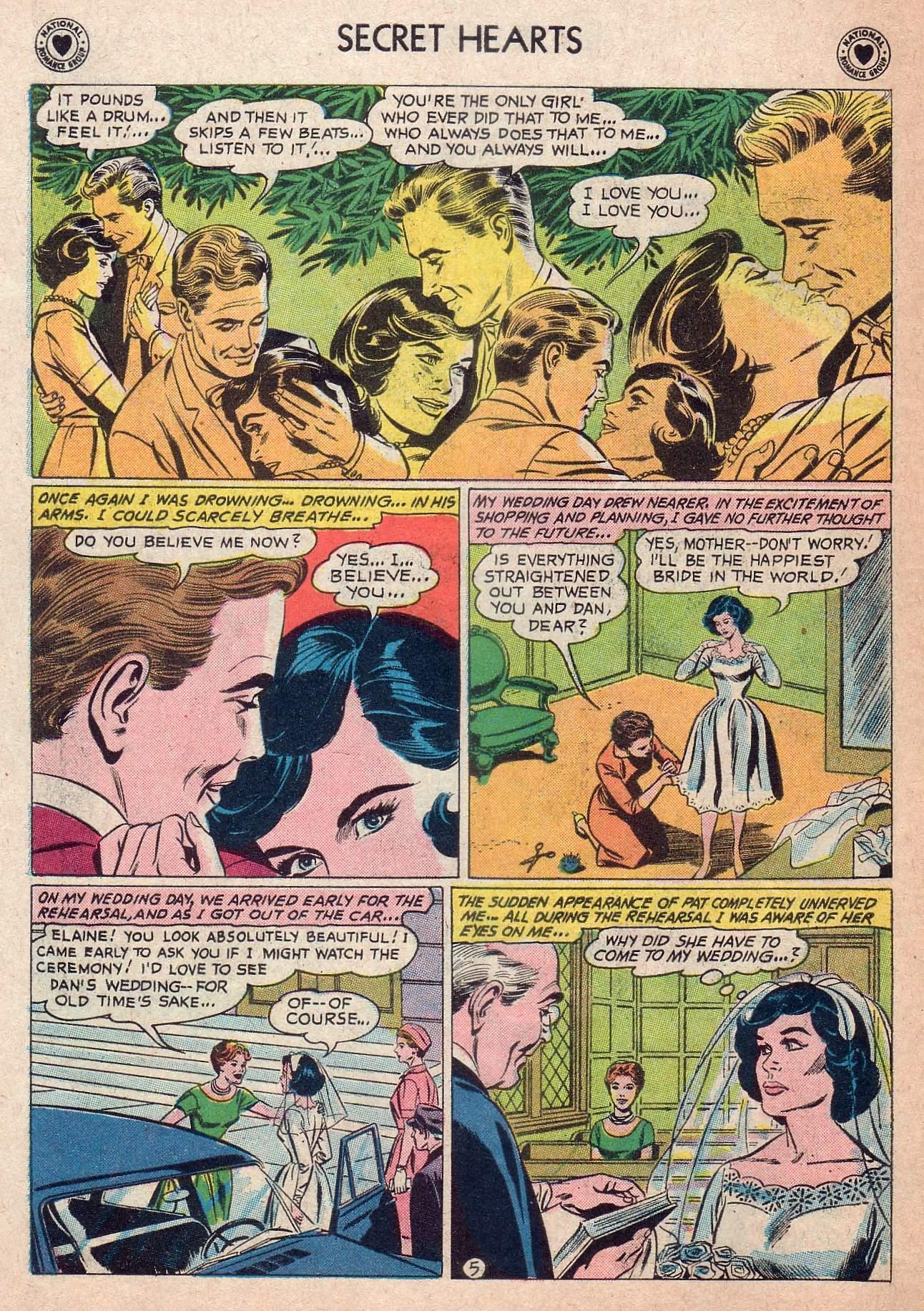 Read online Secret Hearts comic -  Issue #73 - 22