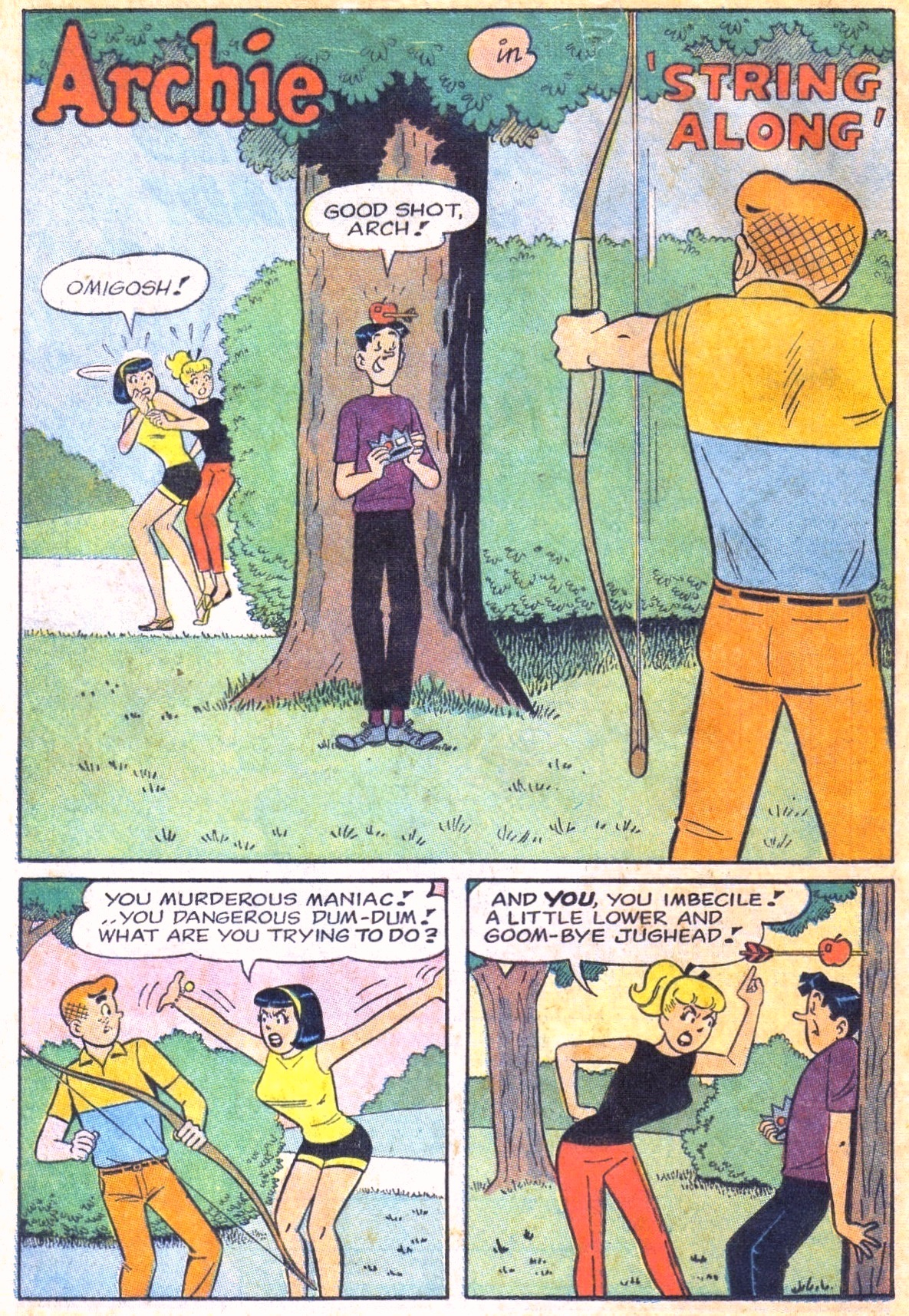 Read online Archie (1960) comic -  Issue #168 - 20