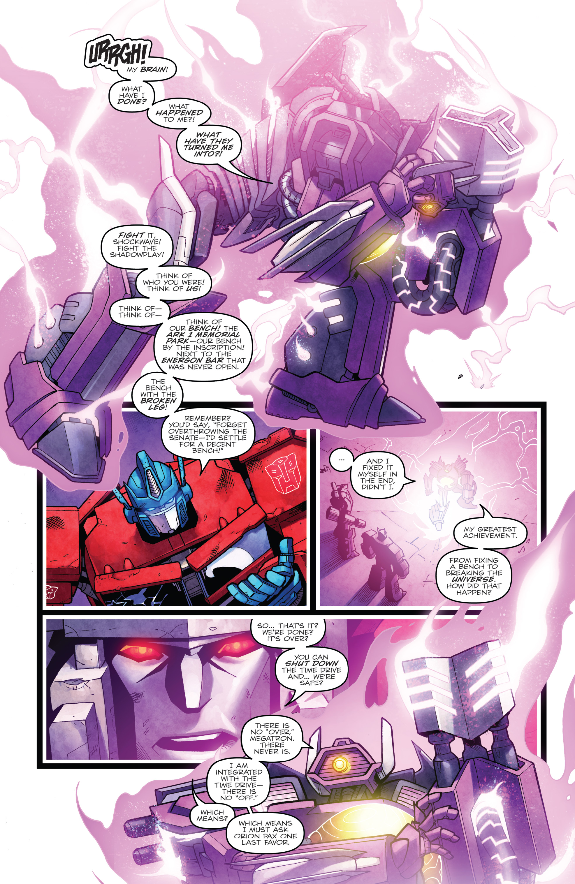 Read online The Transformers: Dark Cybertron Finale comic -  Issue # Full - 141