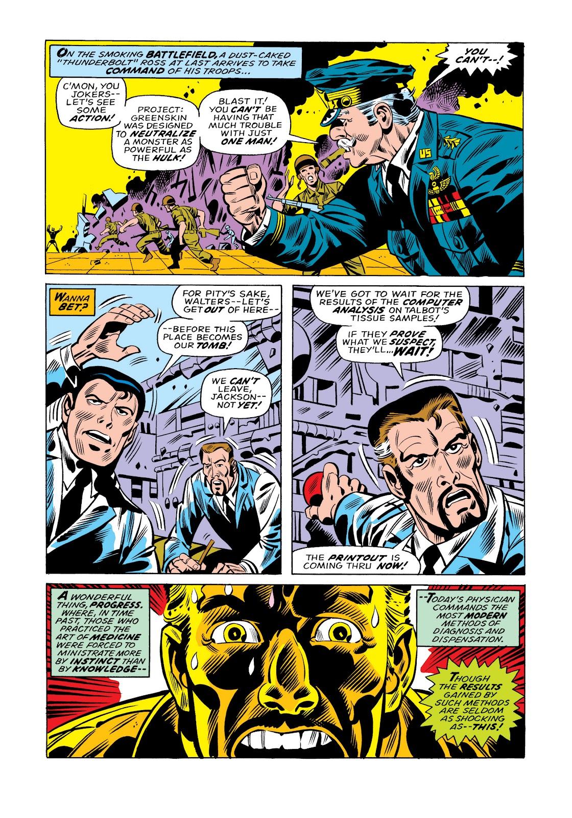 Read online Marvel Masterworks: The Incredible Hulk comic -  Issue # TPB 11 (Part 1) - 56