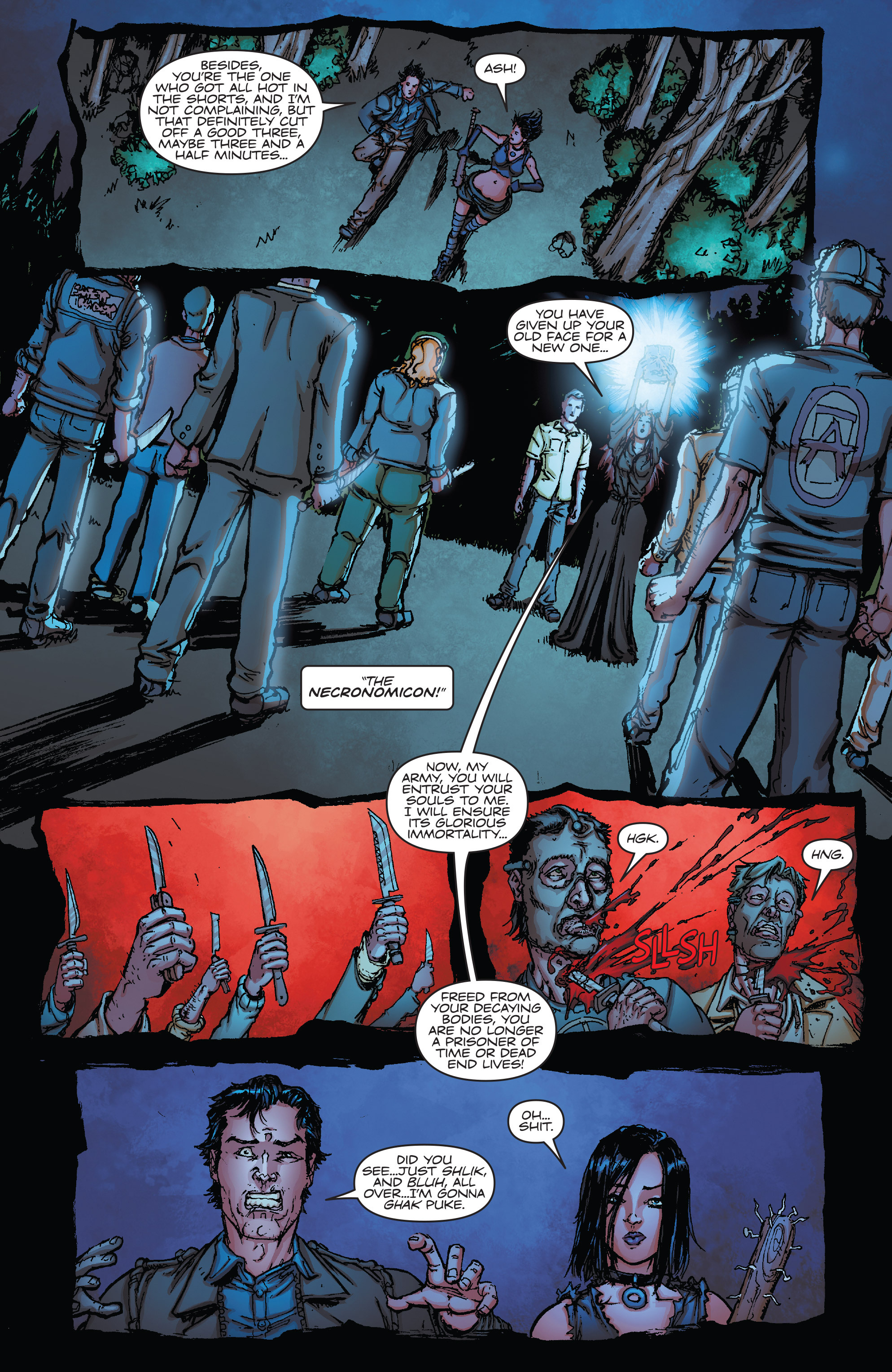 Read online Army of Darkness vs. Hack/Slash comic -  Issue #5 - 10