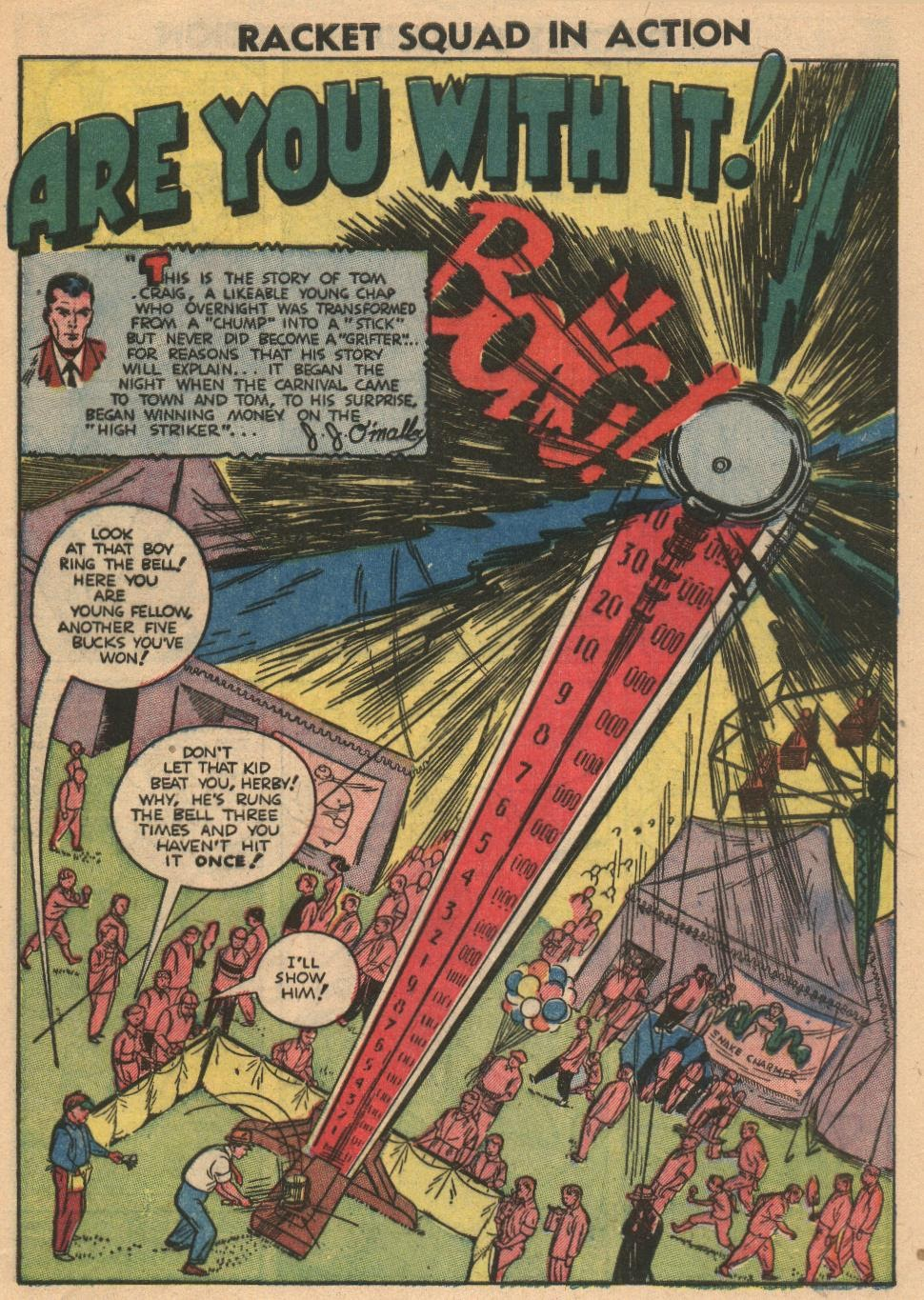 Read online Racket Squad in Action comic -  Issue #2 - 9