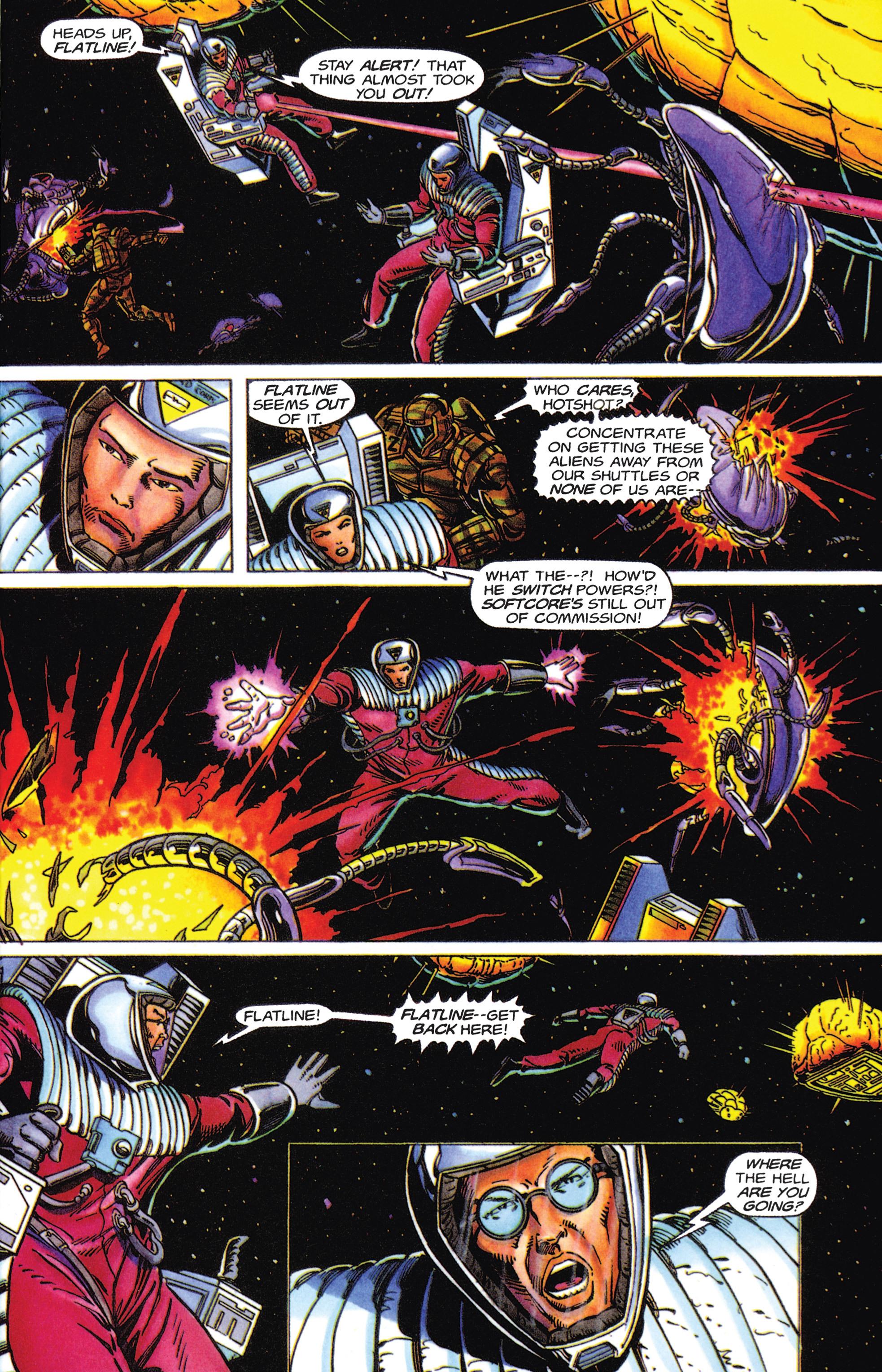 Read online Armorines comic -  Issue #5 - 15