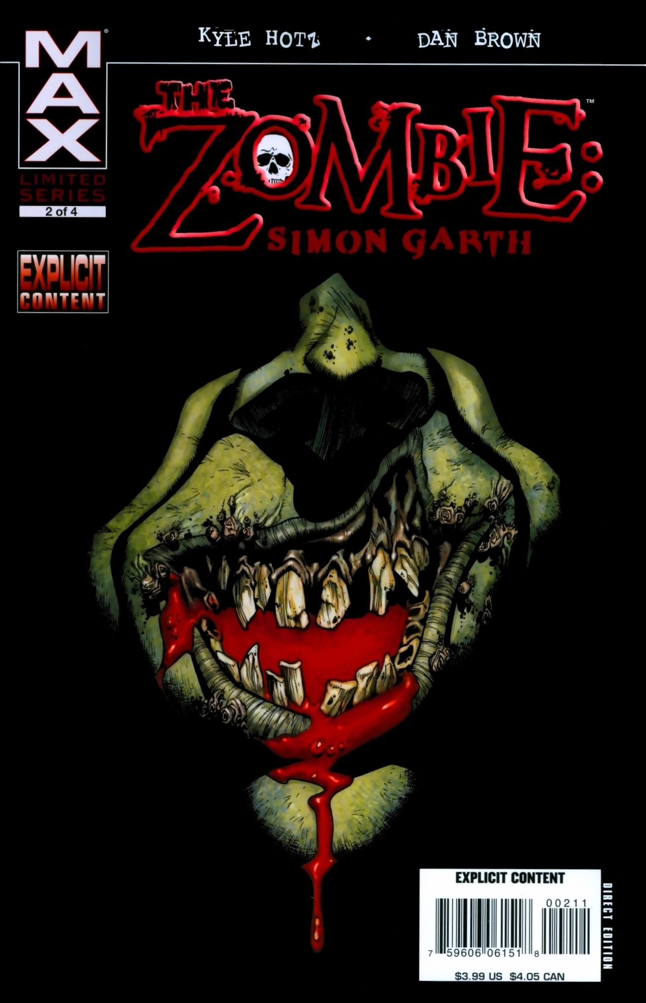 The Zombie: Simon Garth 2 Page 1