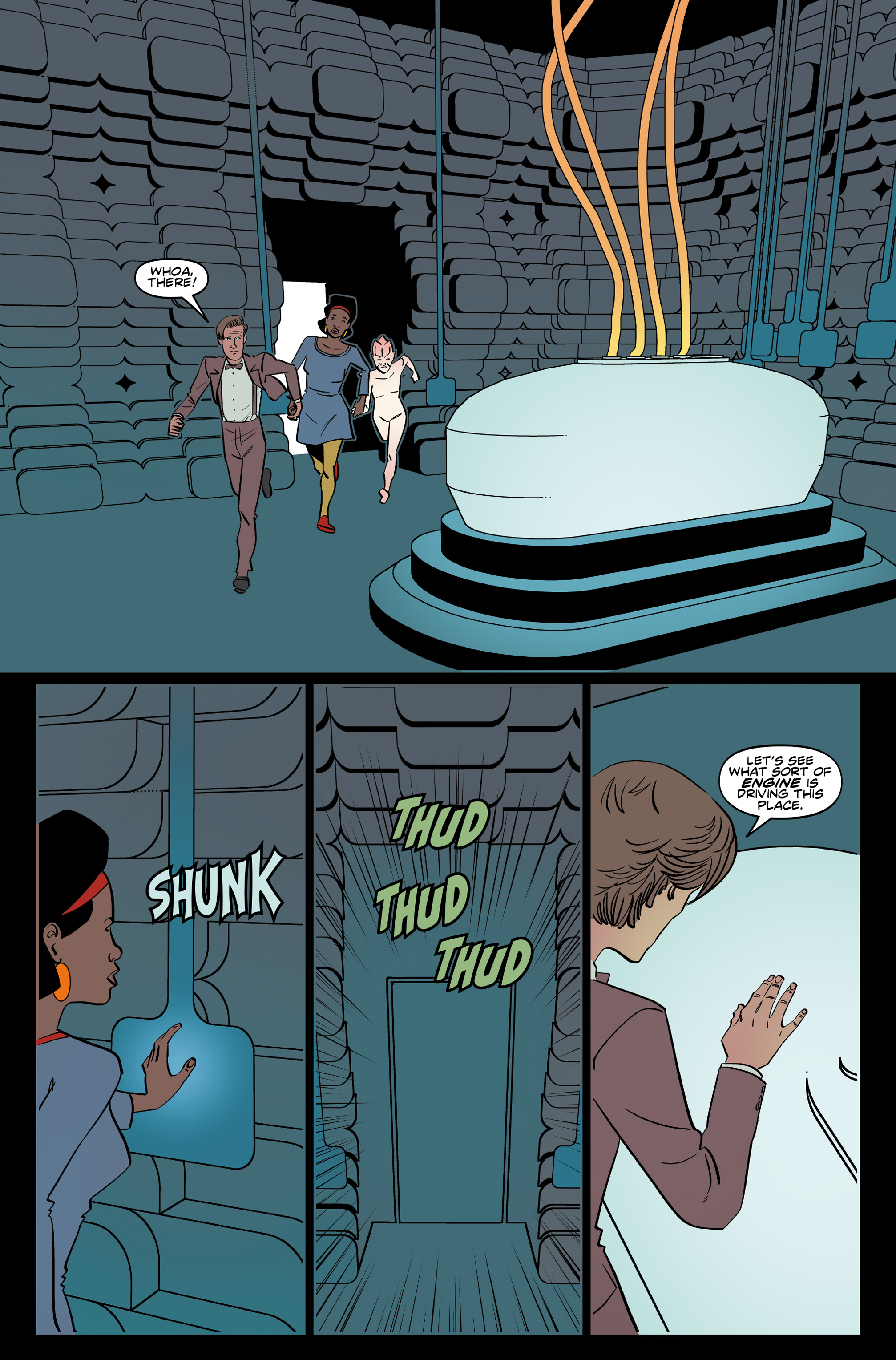 Read online Doctor Who: The Eleventh Doctor Year Three comic -  Issue #6 - 24