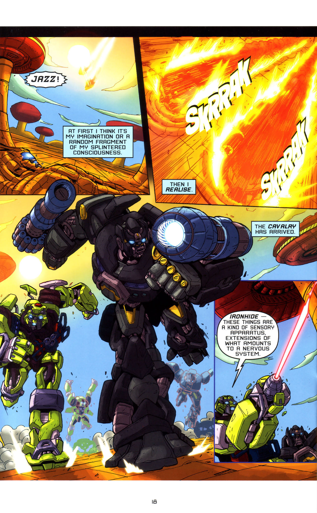 Read online Transformers: Saga of the Allspark comic -  Issue #3 - 21