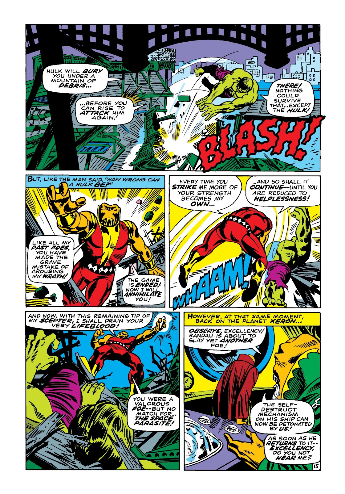 Read online Marvel Masterworks: The Incredible Hulk comic -  Issue # TPB 4 (Part 1) - 22