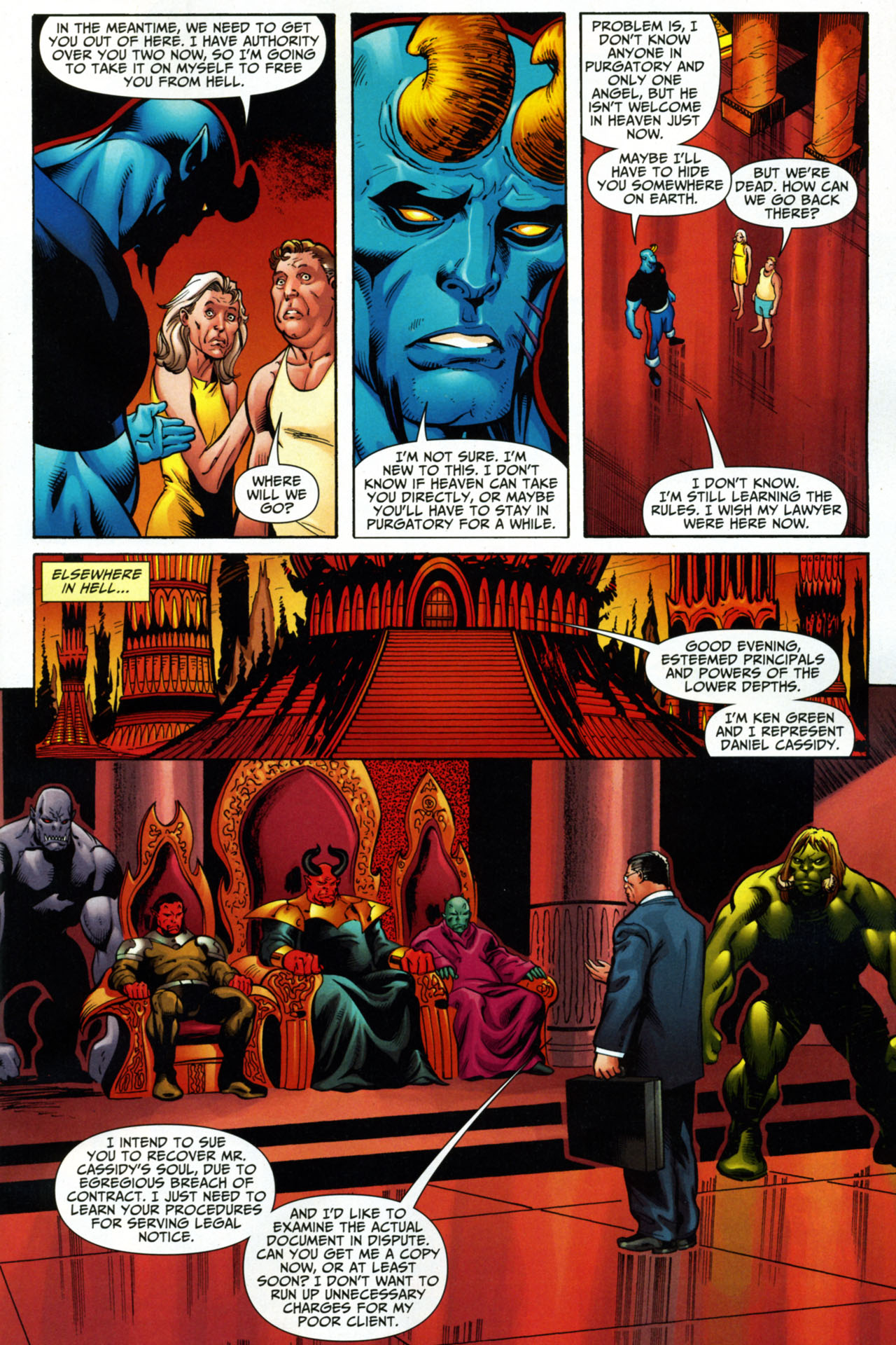 Read online Shadowpact comic -  Issue #15 - 10