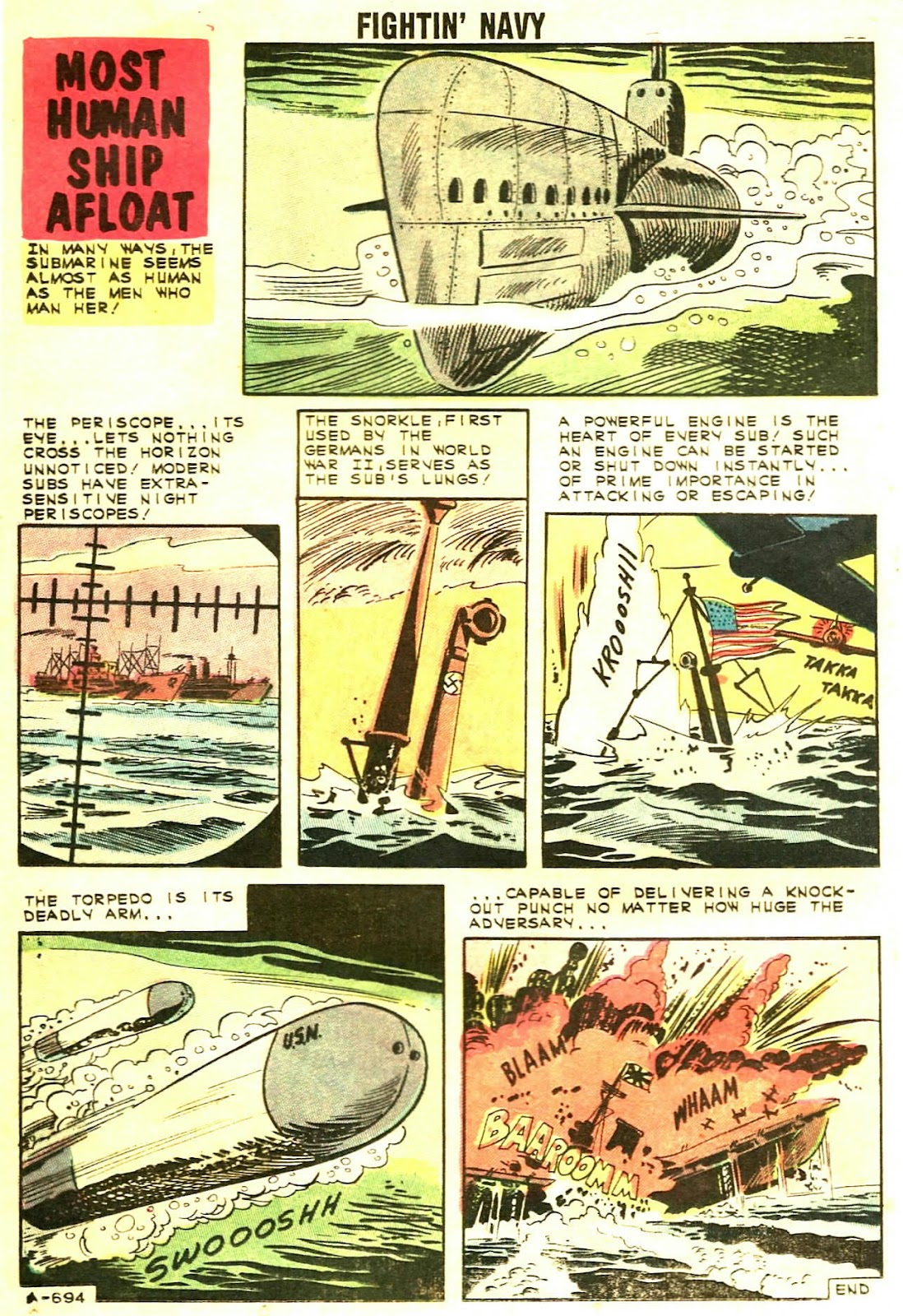 Read online Fightin' Navy comic -  Issue #102 - 24