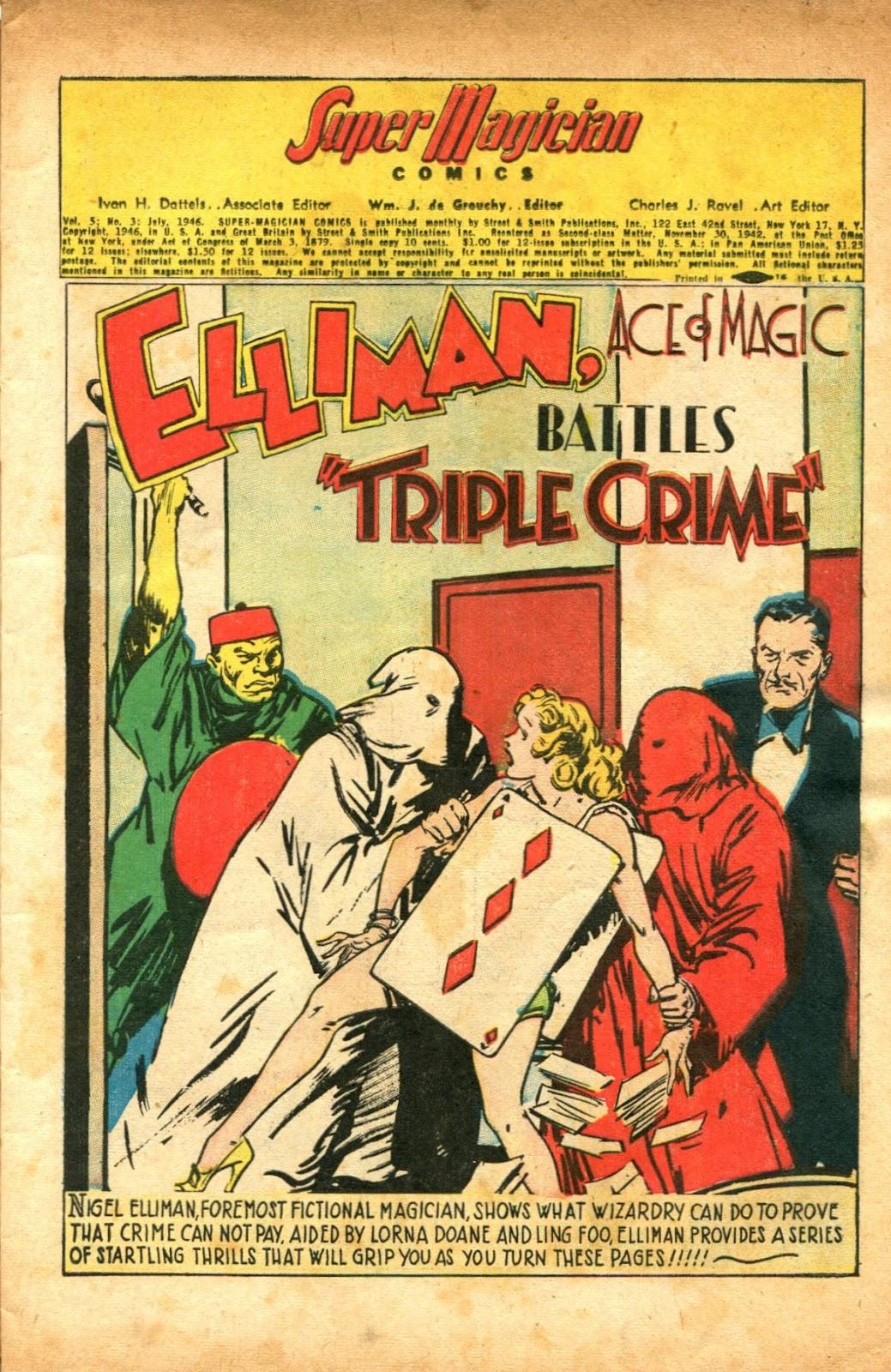 Read online Super-Magician Comics comic -  Issue #51 - 3