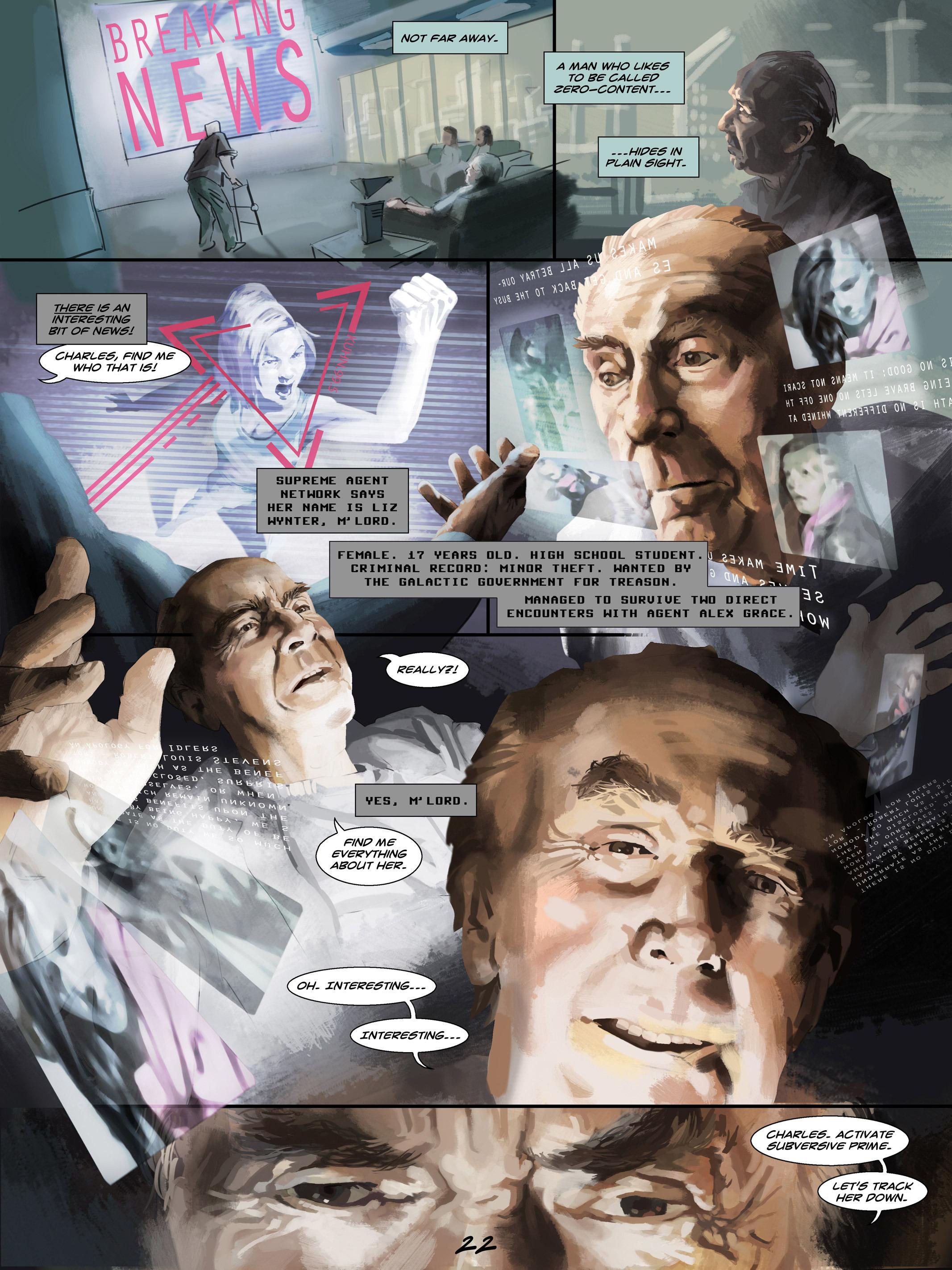 Read online Wynter comic -  Issue #4 - 23