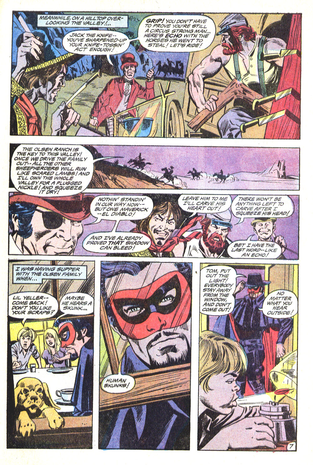 Read online All-Star Western (1970) comic -  Issue #5 - 29