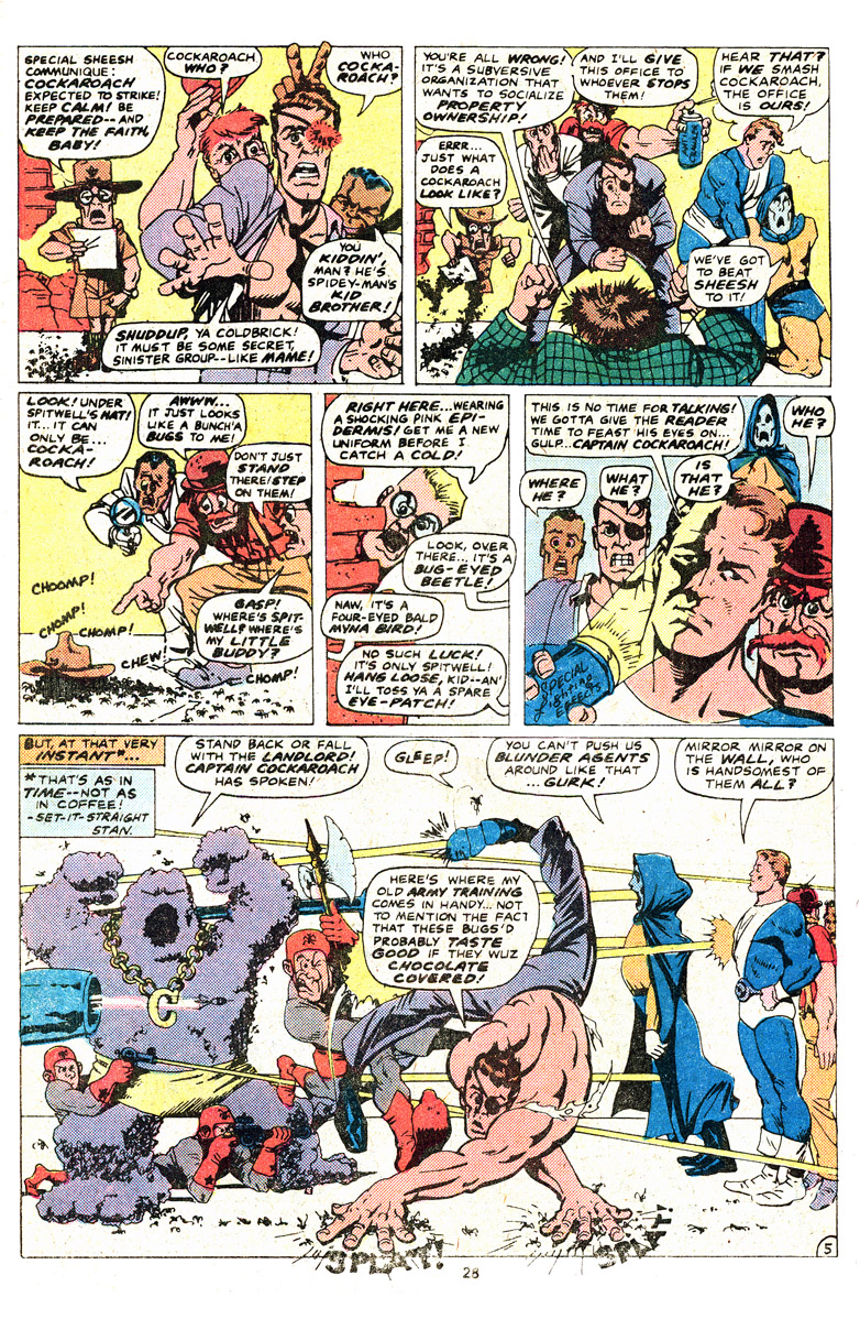 Read online Sgt. Fury comic -  Issue #164 - 30