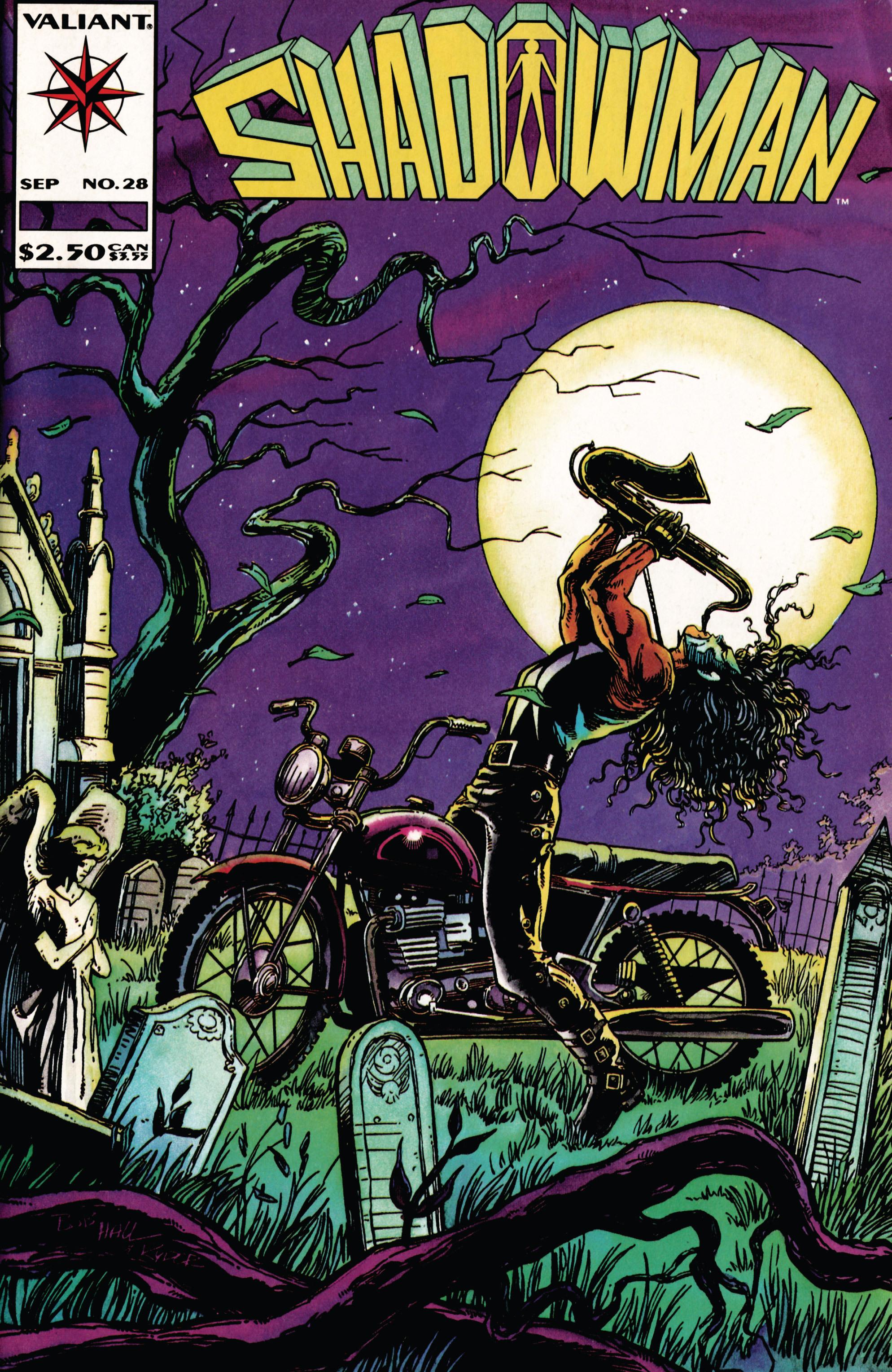 Read online Shadowman (1992) comic -  Issue #28 - 1