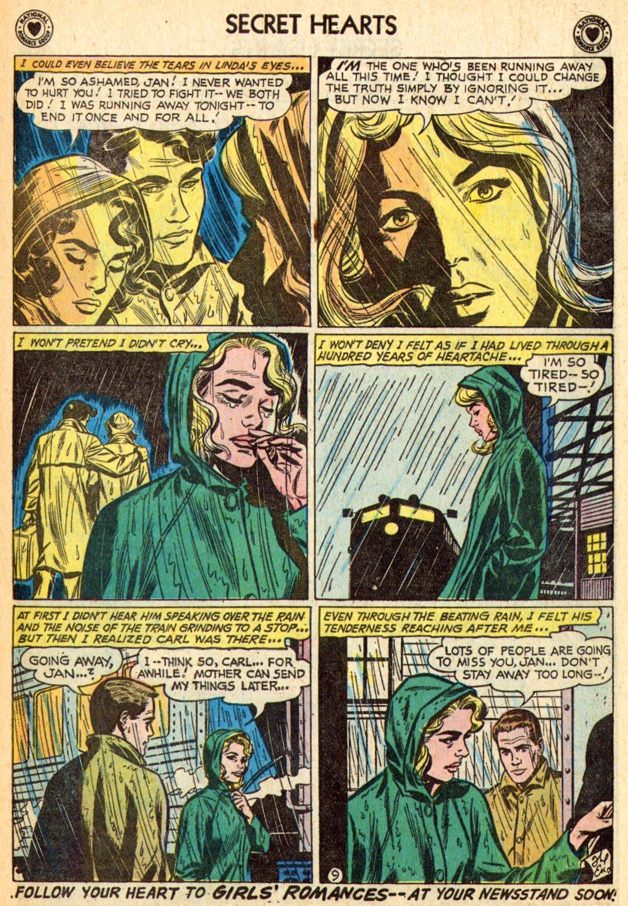 Read online Secret Hearts comic -  Issue #70 - 11