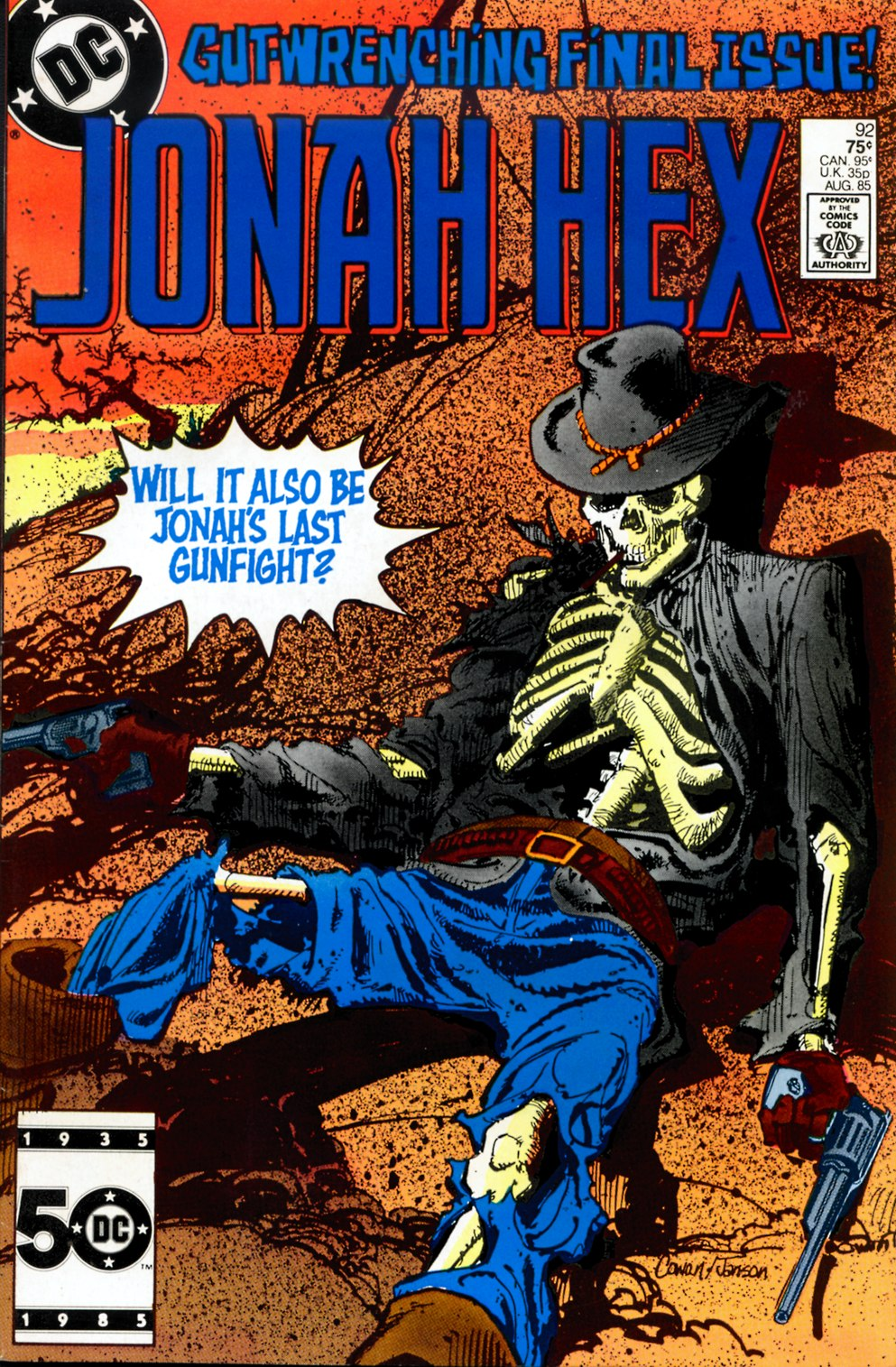 Jonah Hex (1977) 92 Page 1