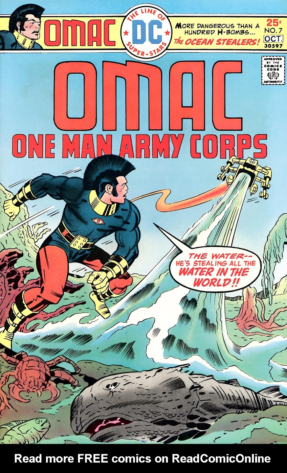 OMAC (1974) issue 7 - Page 1