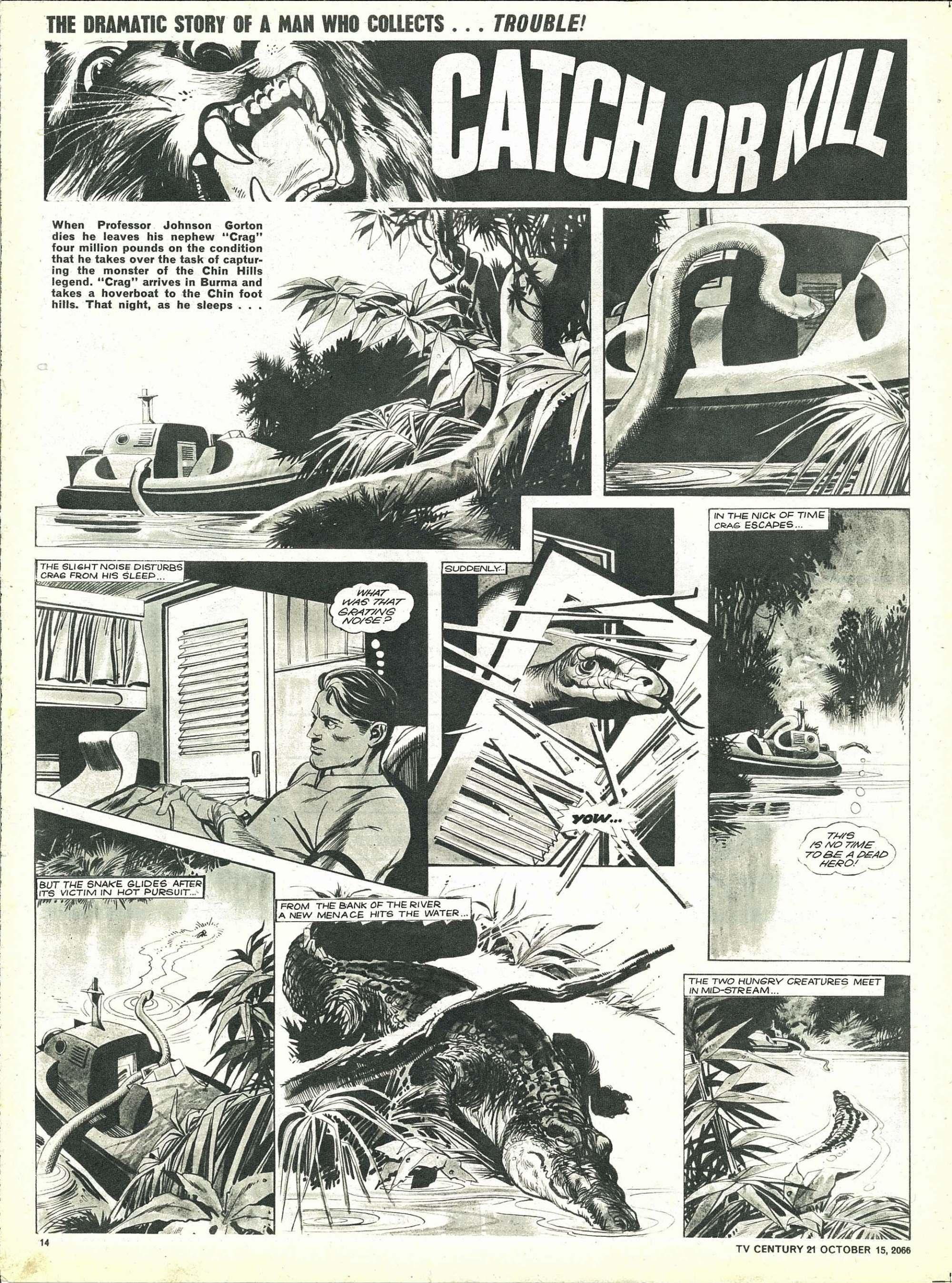 Read online TV Century 21 (TV 21) comic -  Issue #91 - 13