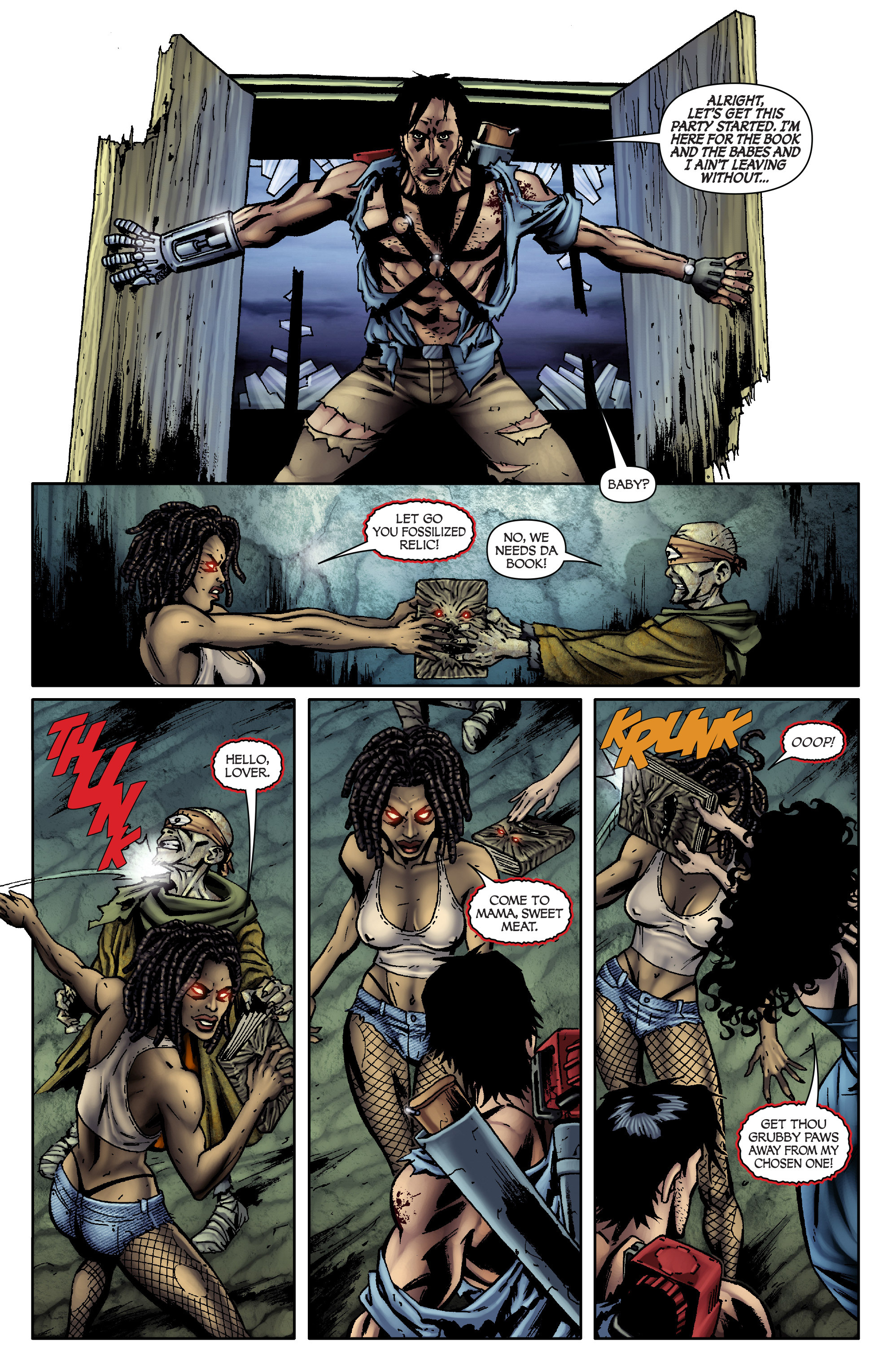 Read online Army of Darkness: From the Ashes comic -  Issue #Army of Darkness: From the Ashes TPB - 94