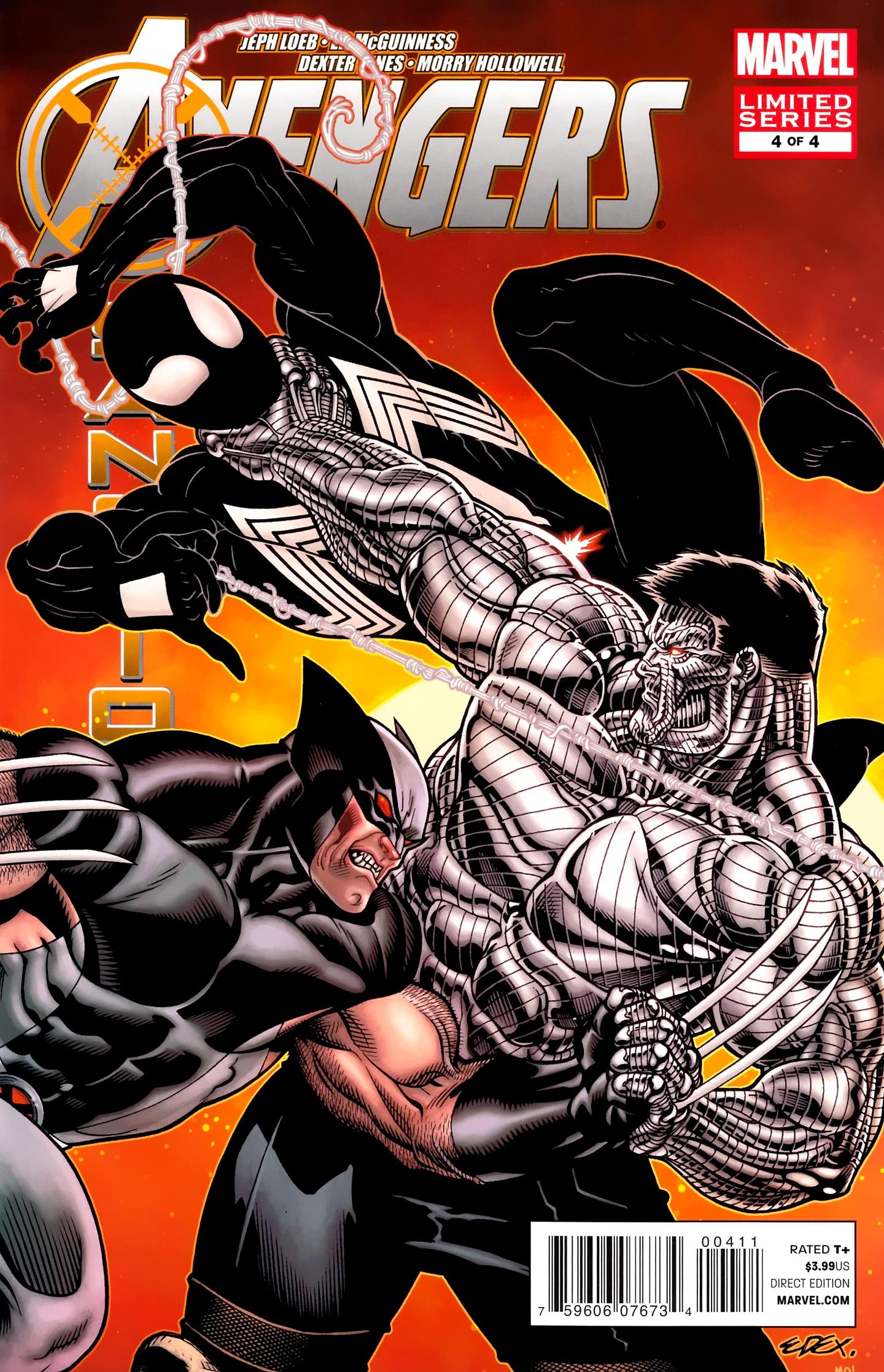 Avengers: X-Sanction 4 Page 1