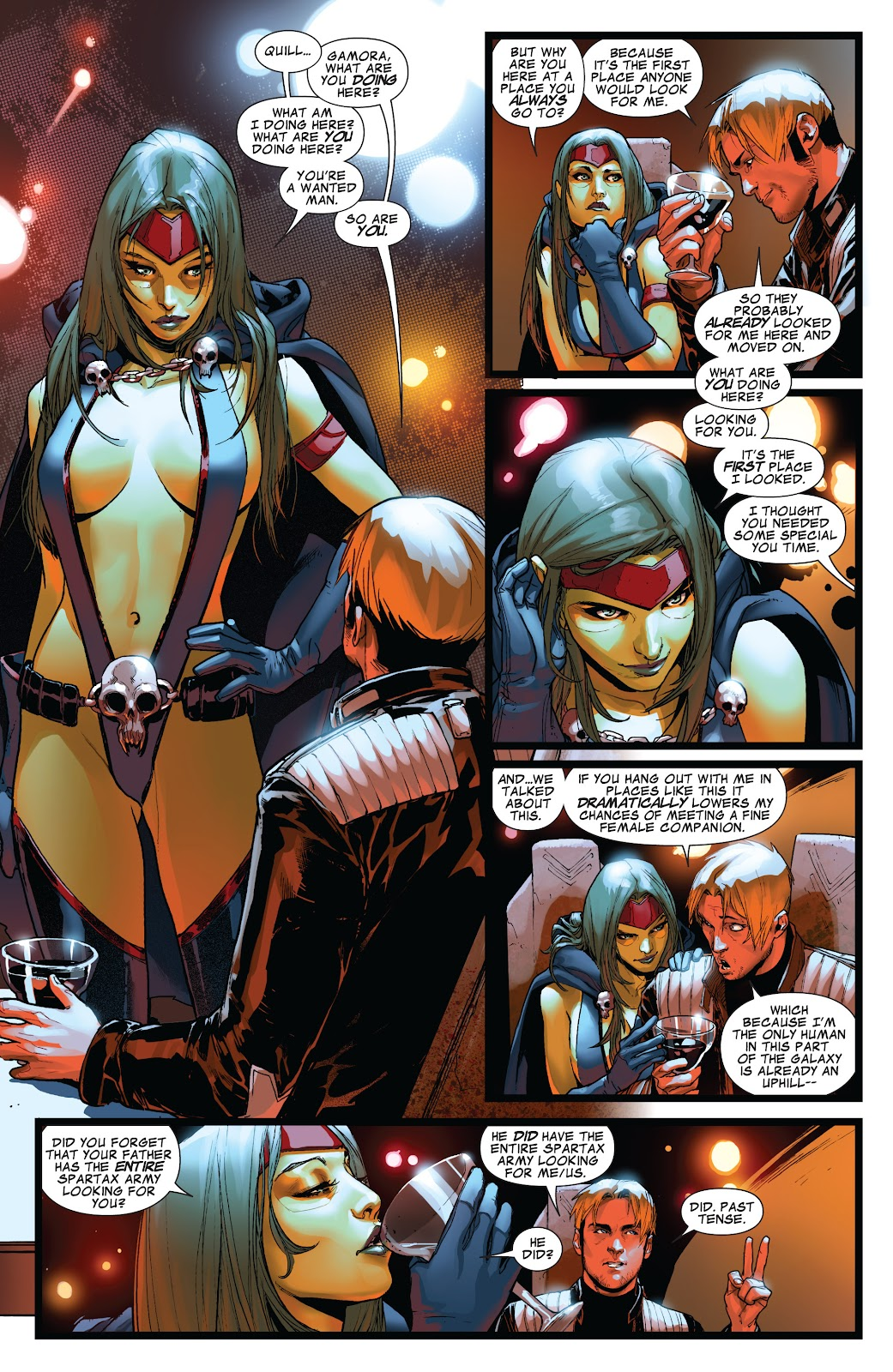 Guardians of the Galaxy/All-New X-Men: The Trial of Jean Grey issue TPB - Page 26