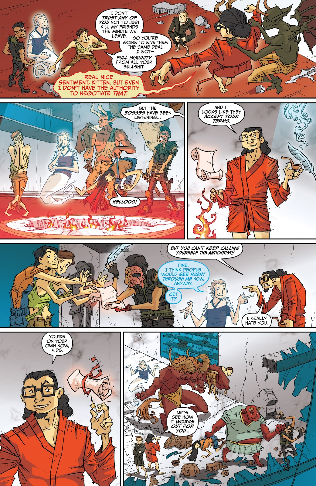 Read online The End Times of Bram and Ben comic -  Issue #4 - 26