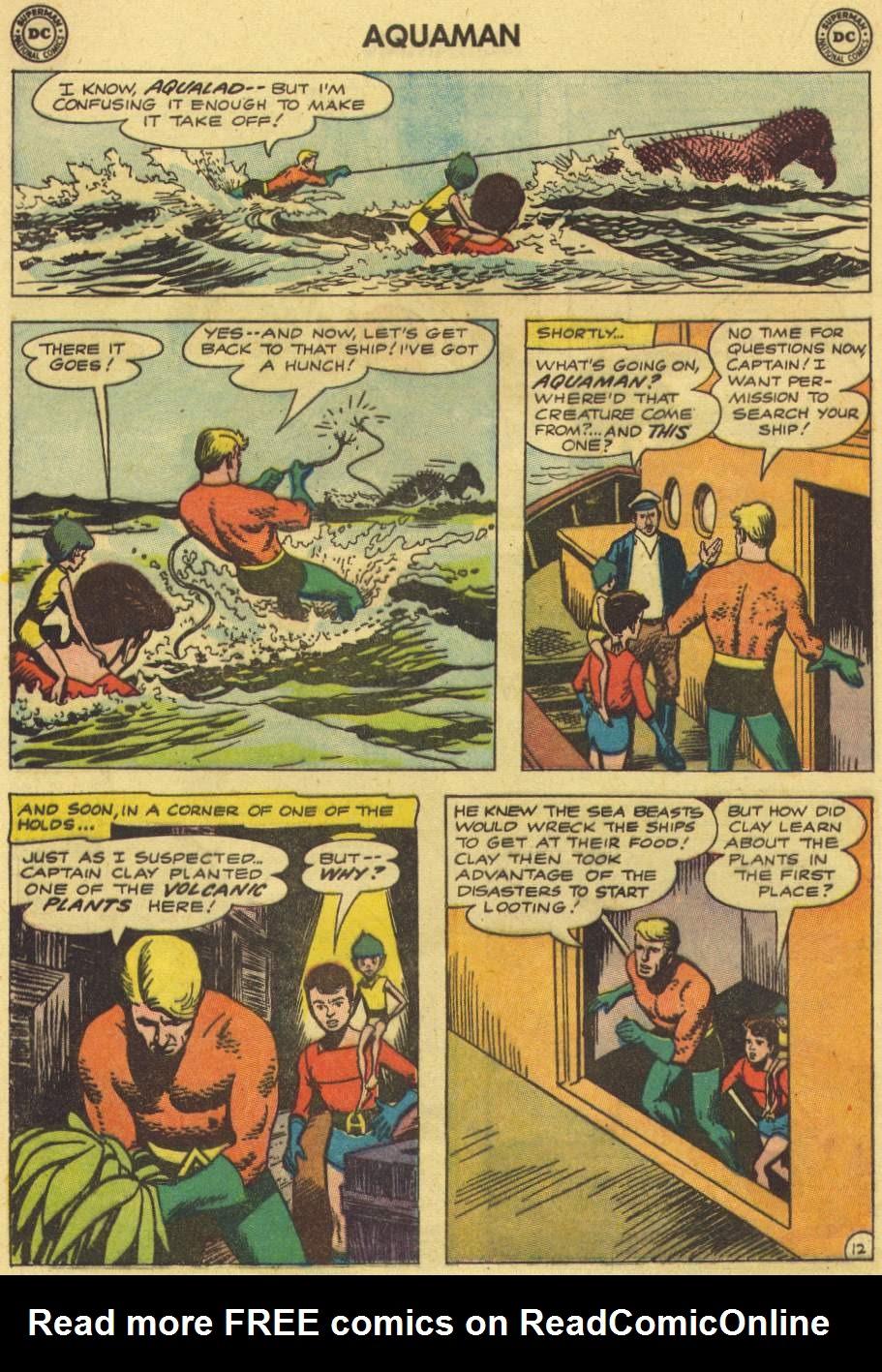 Read online Aquaman (1962) comic -  Issue #7 - 16