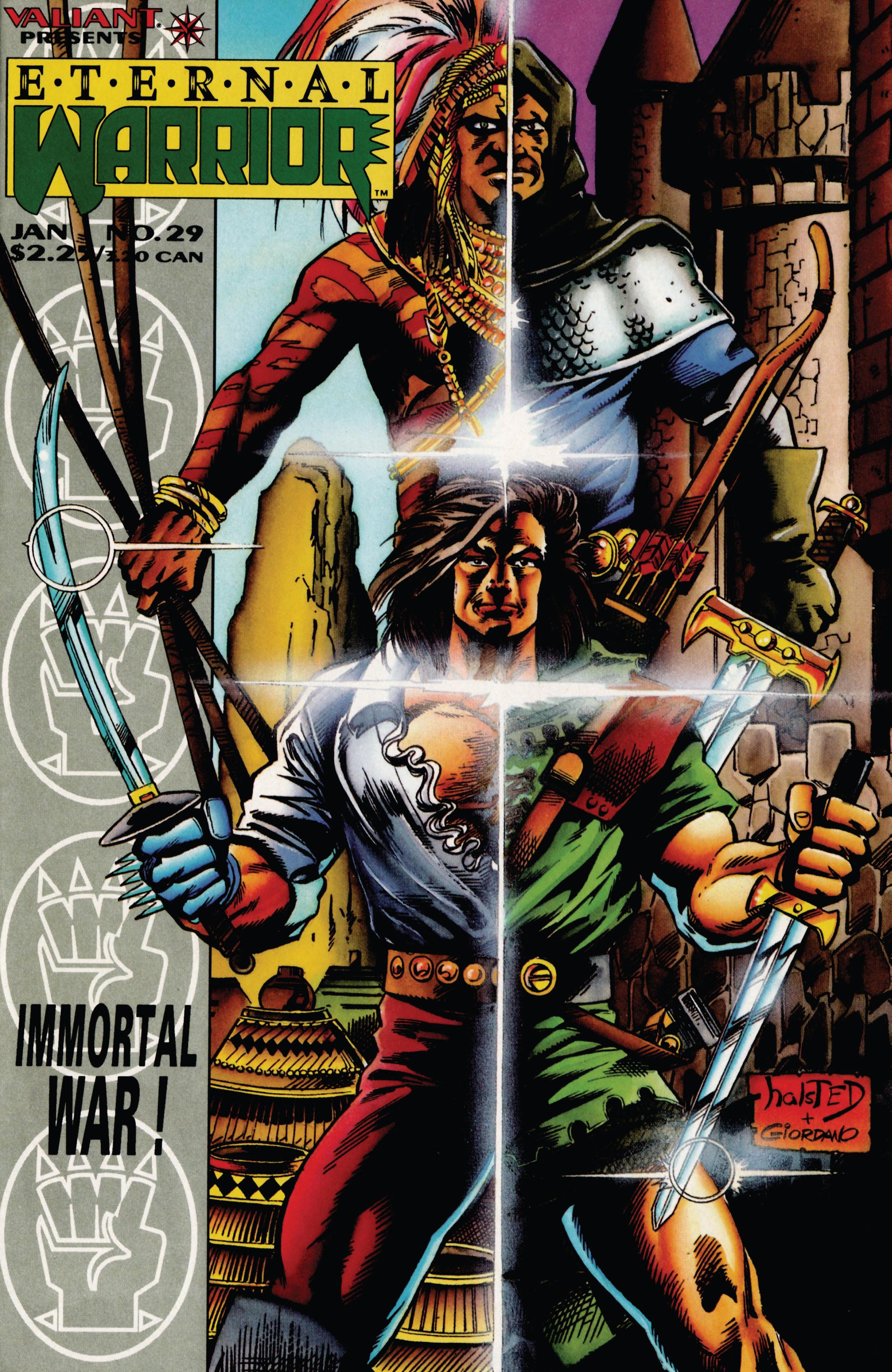 Read online Eternal Warrior (1992) comic -  Issue #29 - 1