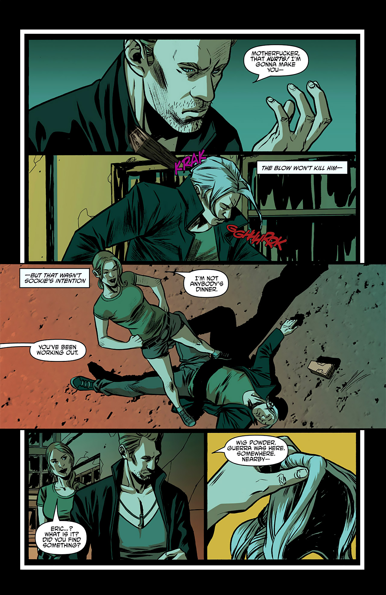 Read online True Blood: French Quarter comic -  Issue #2 - 17