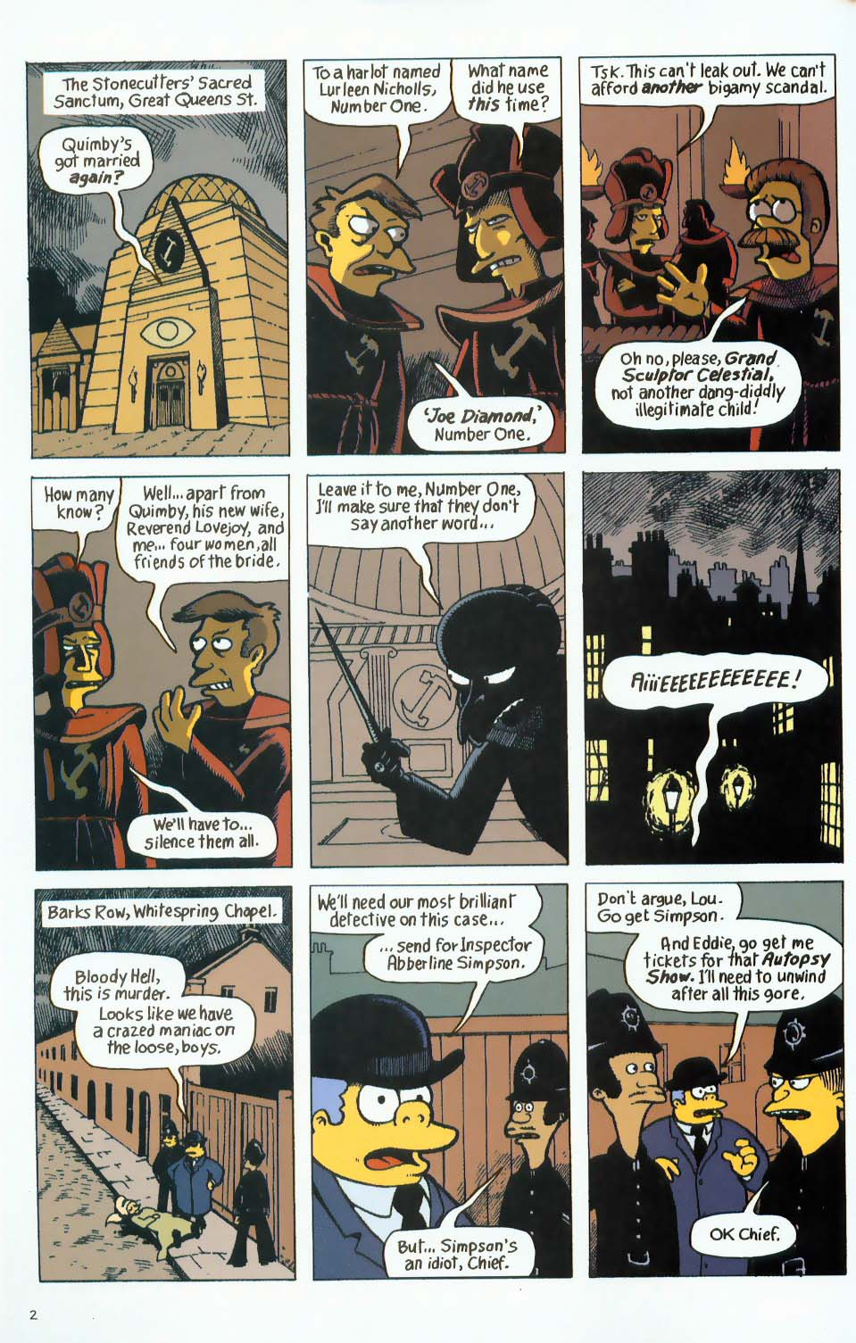 Read online Treehouse of Horror comic -  Issue #9 - 34