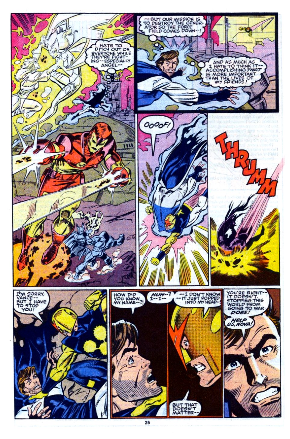 The New Warriors Issue #12 #16 - English 20