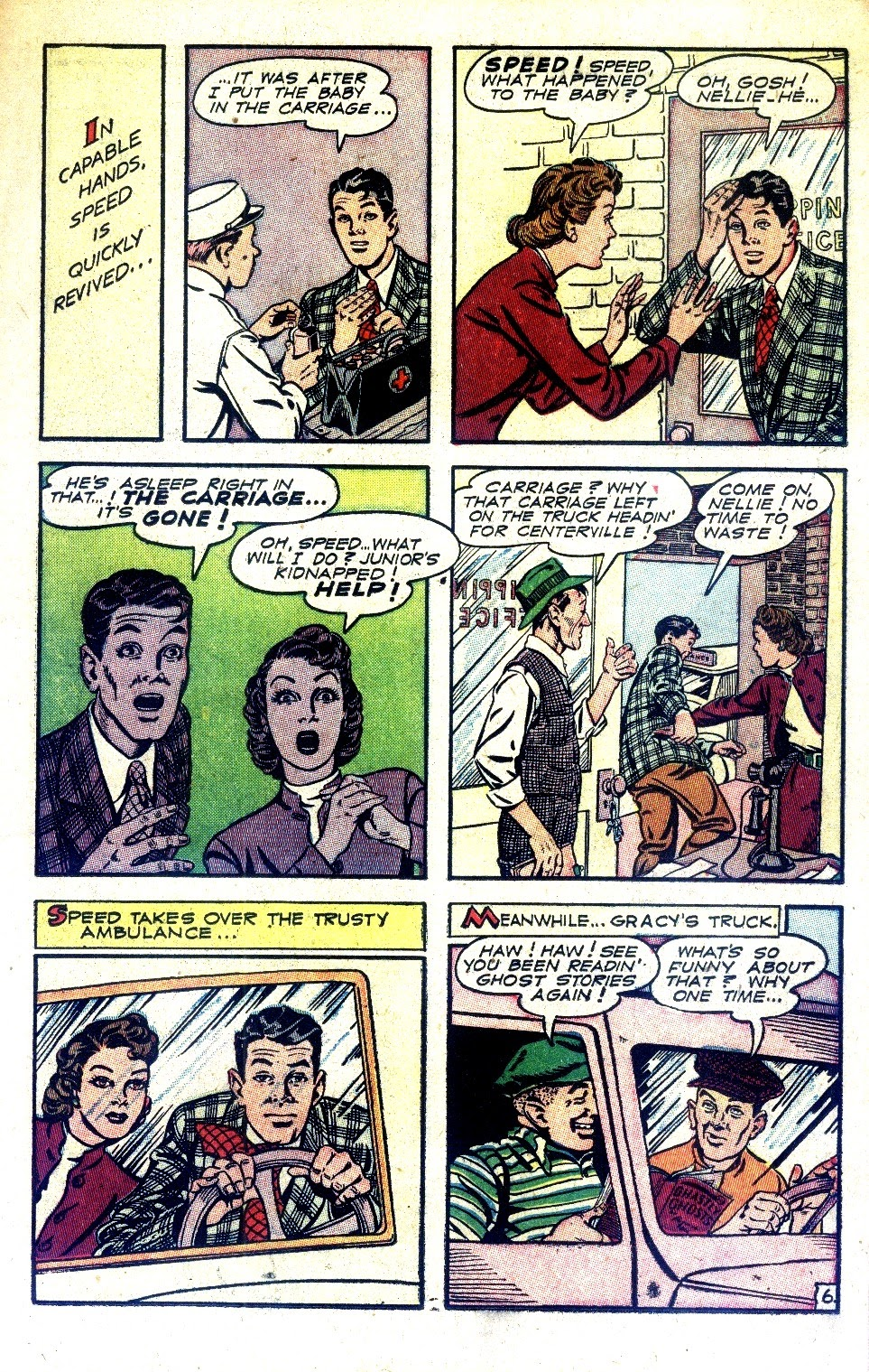 Read online Nellie The Nurse (1945) comic -  Issue #2 - 15