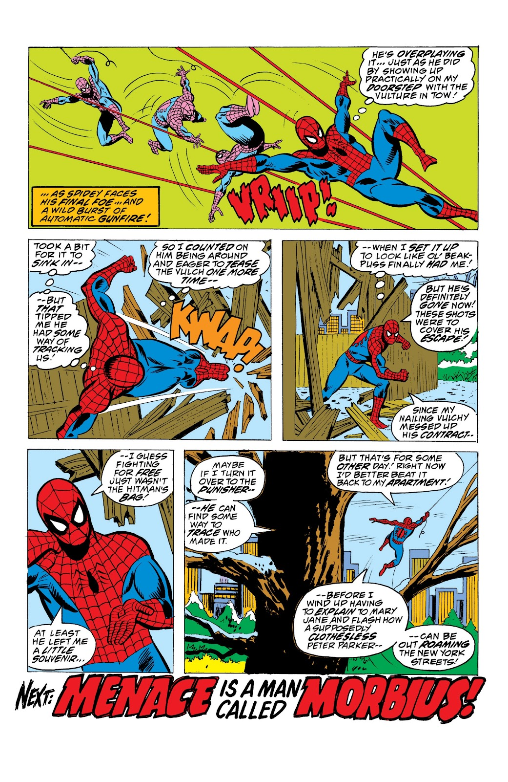 Read online Marvel Masterworks: The Spectacular Spider-Man comic -  Issue # TPB (Part 1) - 97
