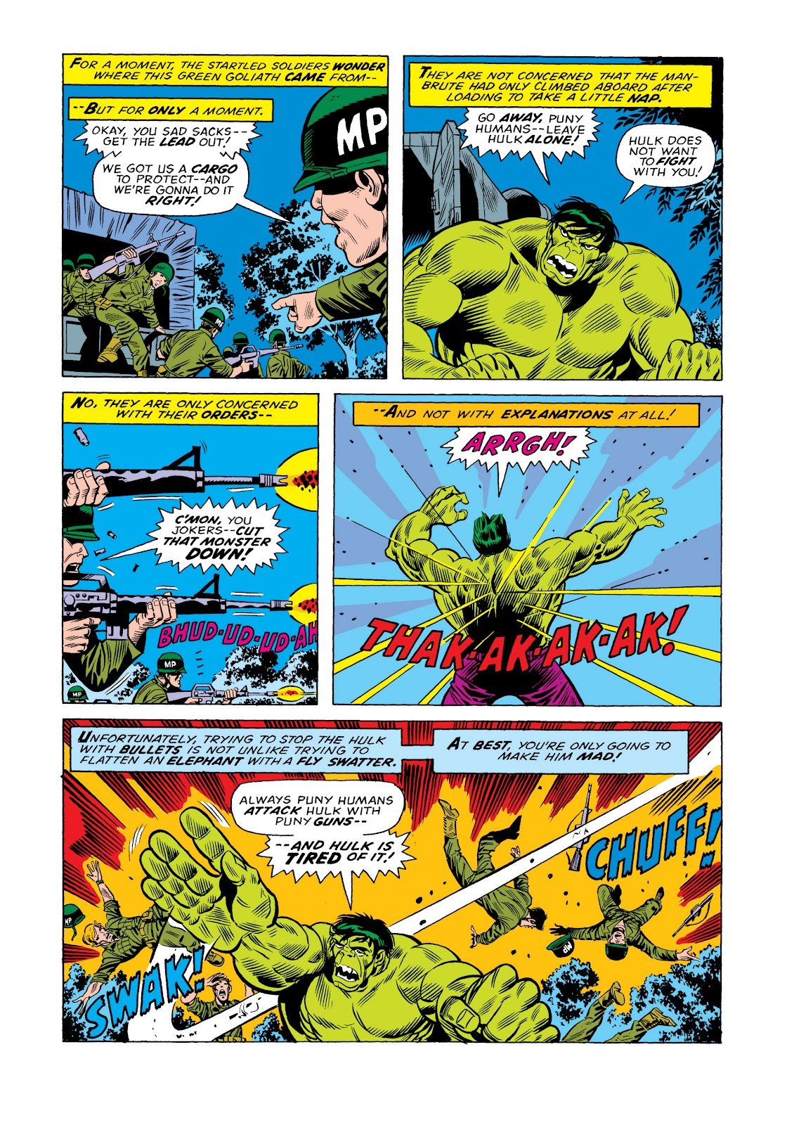 Read online Marvel Masterworks: The Incredible Hulk comic -  Issue # TPB 11 (Part 1) - 10