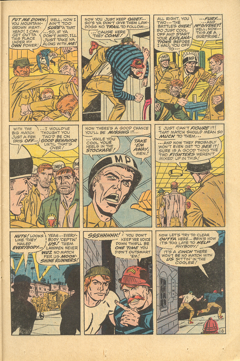 Read online Sgt. Fury comic -  Issue #83 - 23