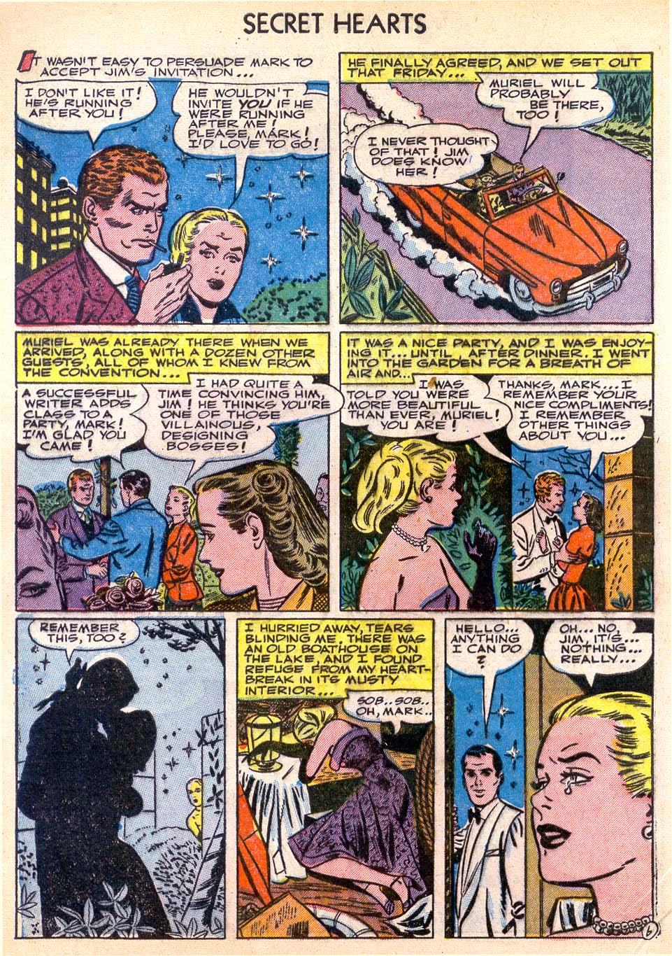 Read online Secret Hearts comic -  Issue #11 - 8