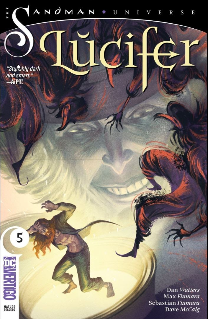Read online Lucifer (2018) comic -  Issue #5 - 1