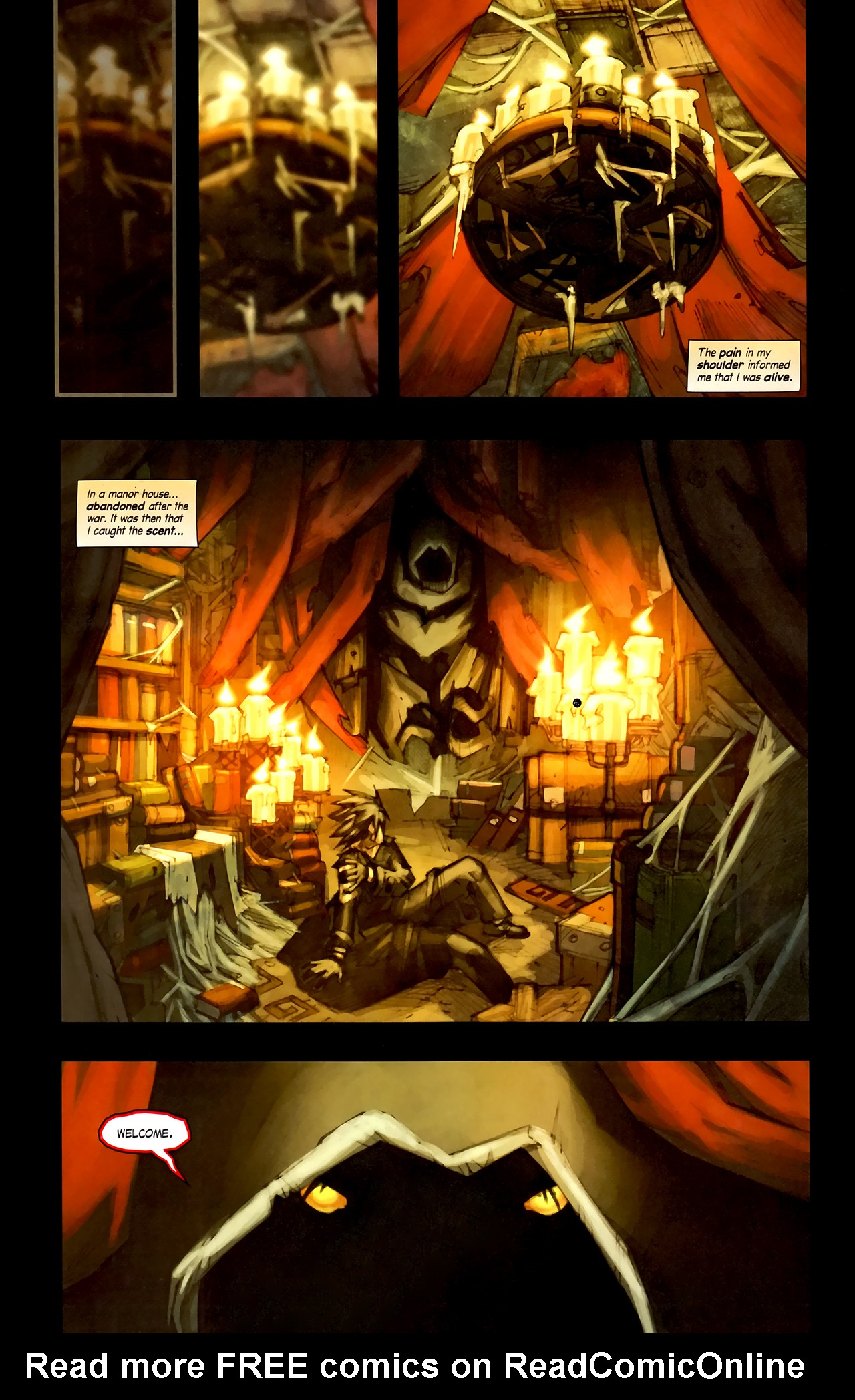 Read online World of Warcraft: Curse of the Worgen comic -  Issue #1 - 16