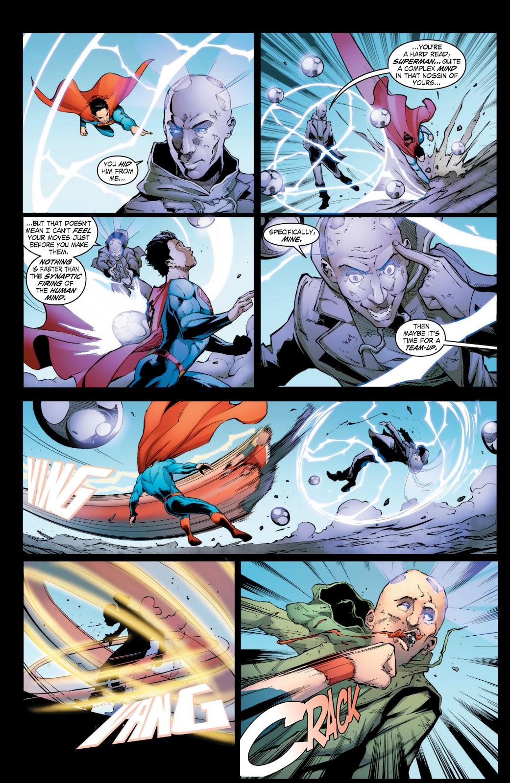 Read online Smallville Season 11 [II] comic -  Issue # TPB 3 - 15