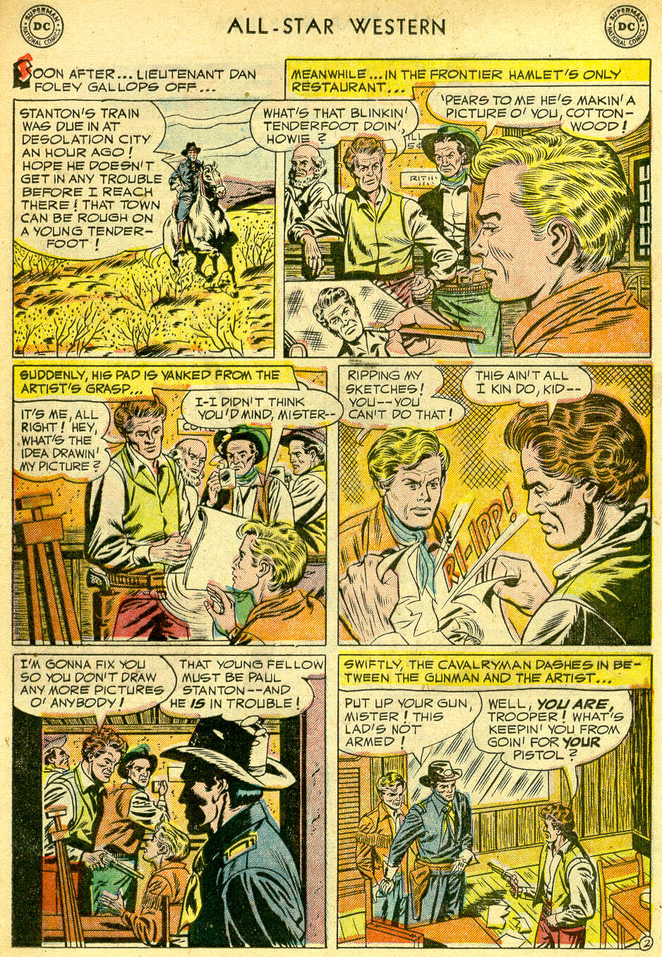 Read online All-Star Western (1951) comic -  Issue #68 - 20