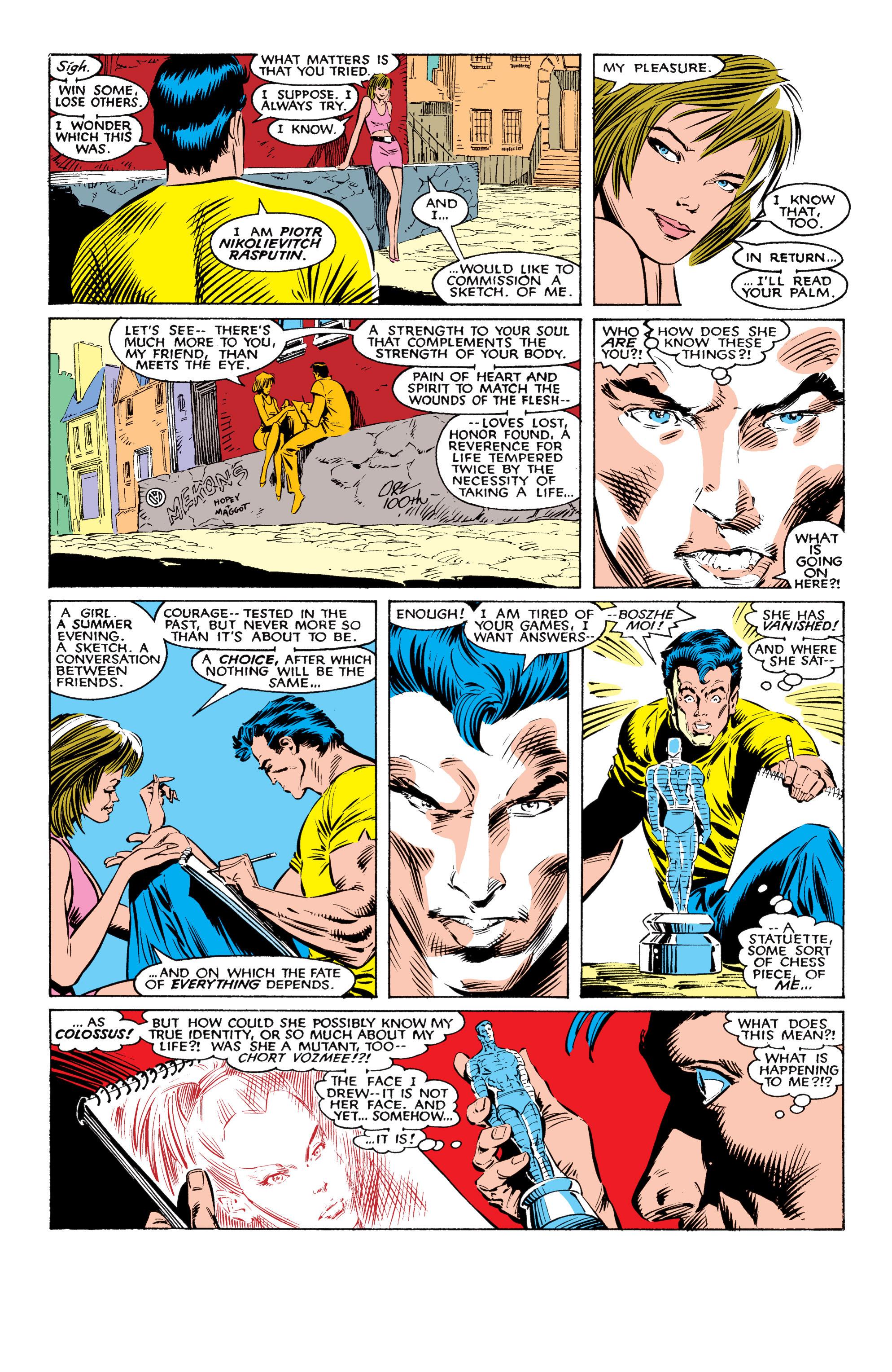 Read online Uncanny X-Men (1963) comic -  Issue #225 - 6
