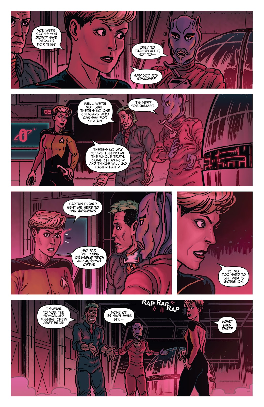 Read online Star Trek: Waypoint Special 2019 comic -  Issue # Full - 18