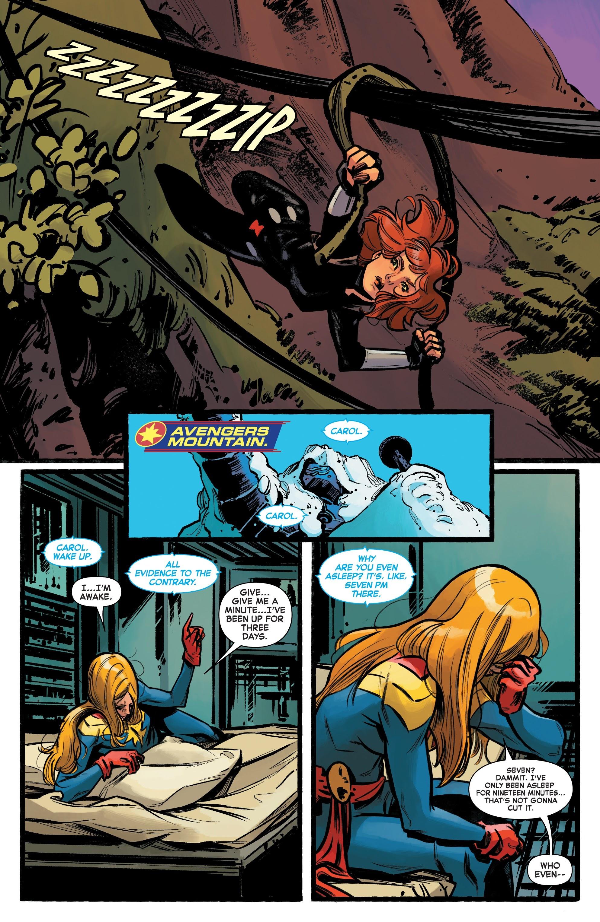 Read online Captain Marvel (2019) comic -  Issue #6 - 7