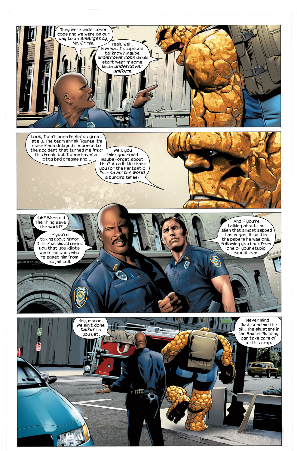 Read online Ultimate Fantastic Four (2004) comic -  Issue #27 - 12
